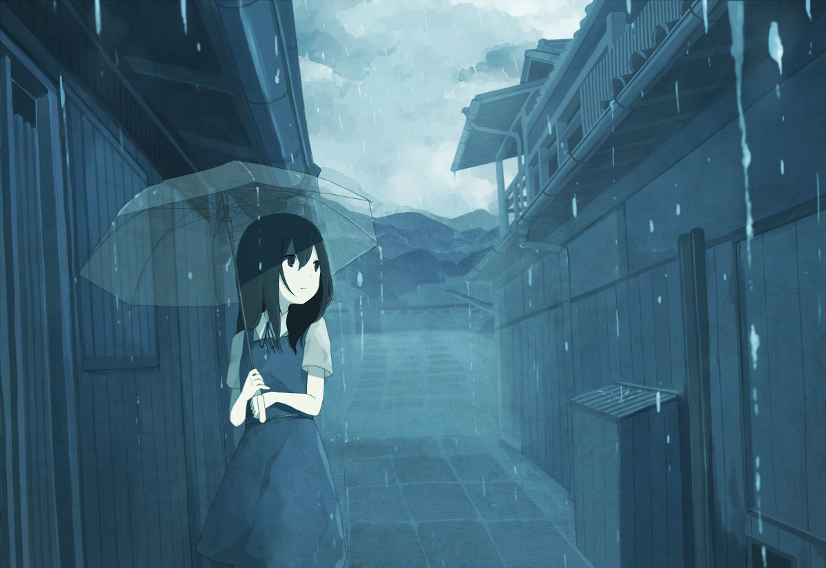 Sad Anime Wallpapers Top Free Sad Anime Backgrounds