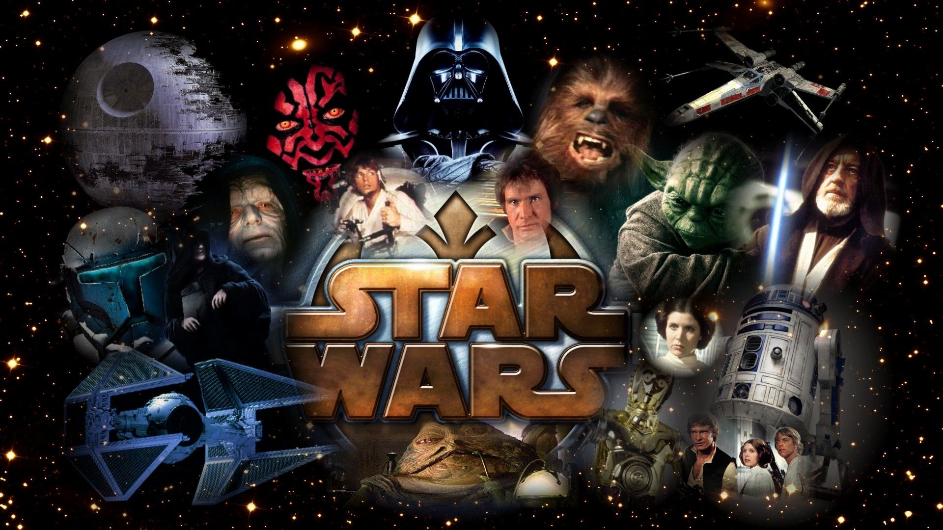 Star Wars Characters Wallpapers Top Free Star Wars Characters Backgrounds Wallpaperaccess