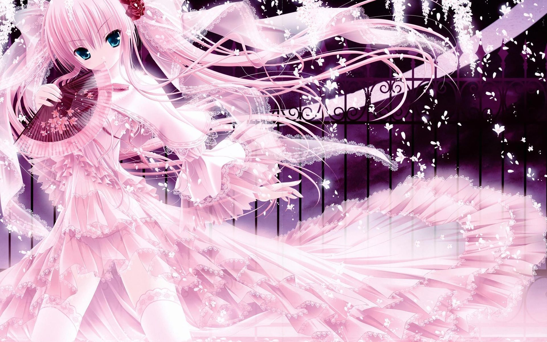 Pink Anime Wallpapers - Top Free Pink Anime Backgrounds ...