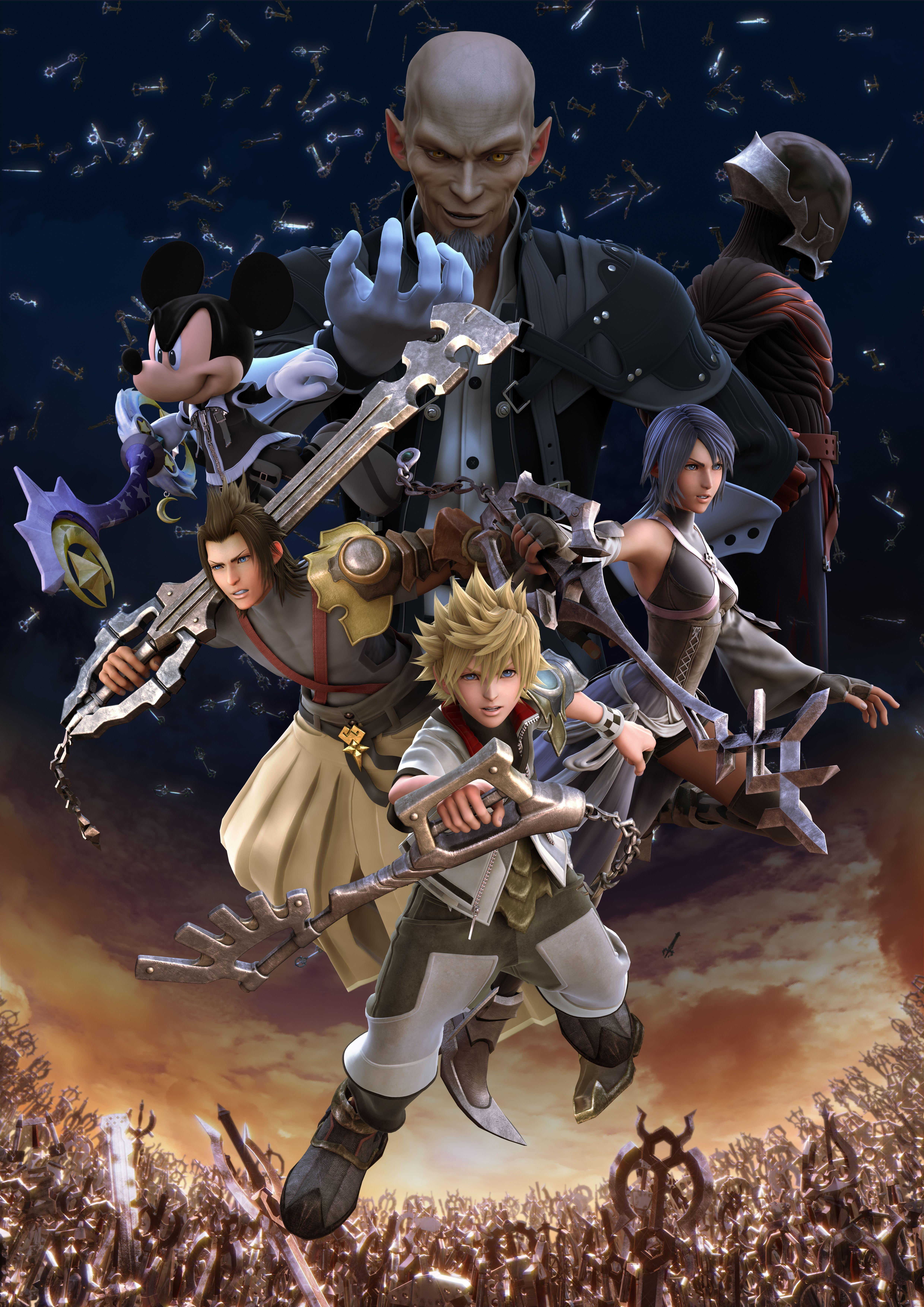 Kingdom Hearts Birth By Sleep Wallpapers Top Free Kingdom Hearts Birth By Sleep Backgrounds Wallpaperaccess