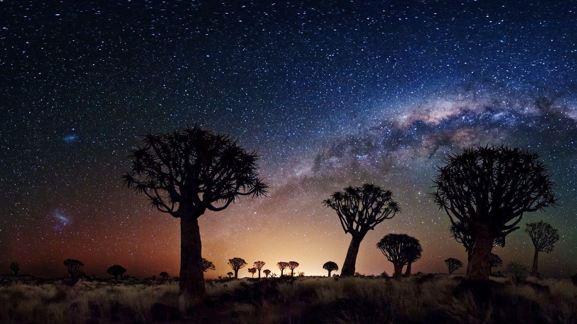 Desert Milky Way Wallpapers Top Free Desert Milky Way Backgrounds Wallpaperaccess