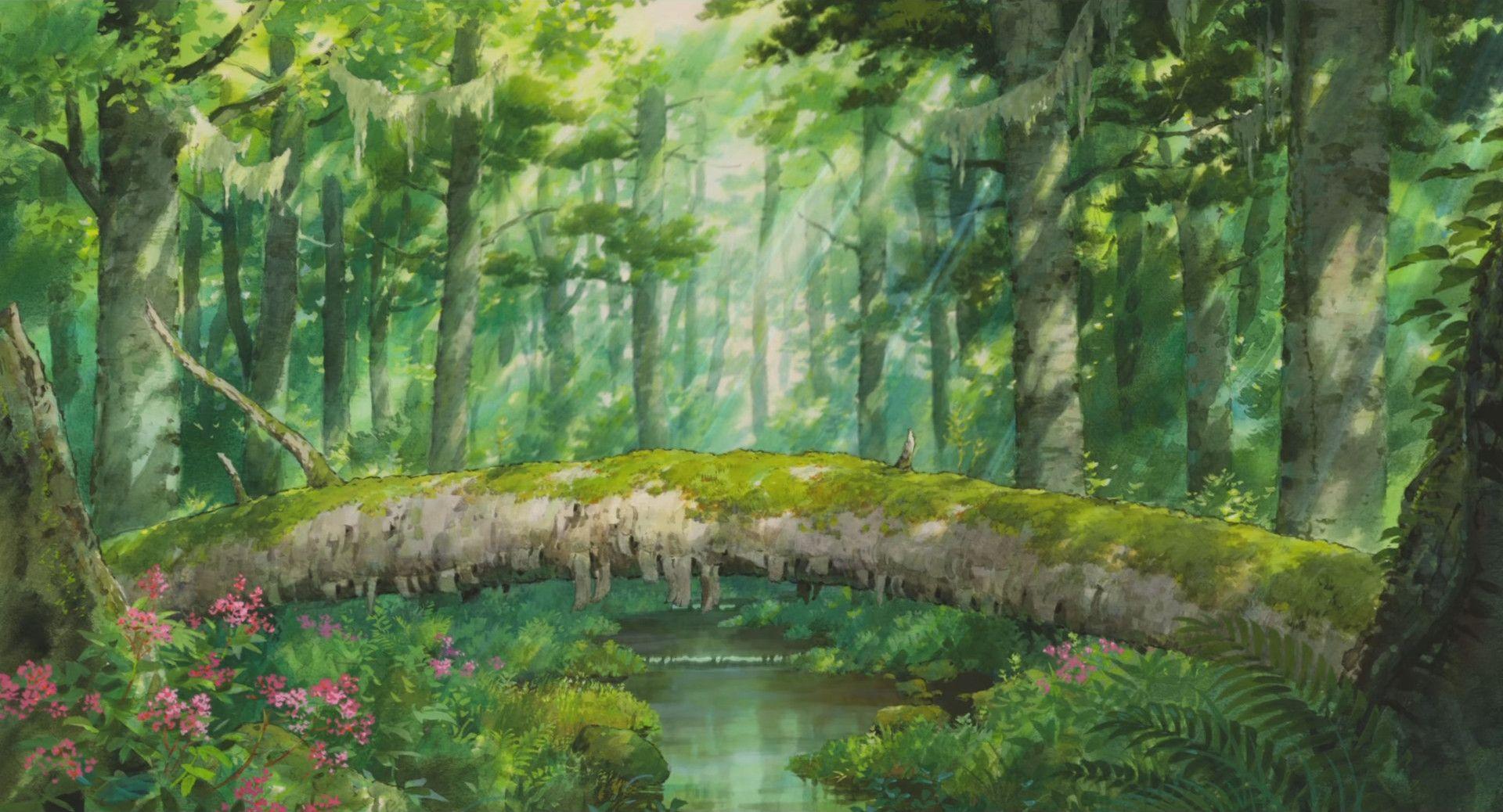 Studio Ghibli Scenery Wallpapers - Top Free Studio Ghibli ...