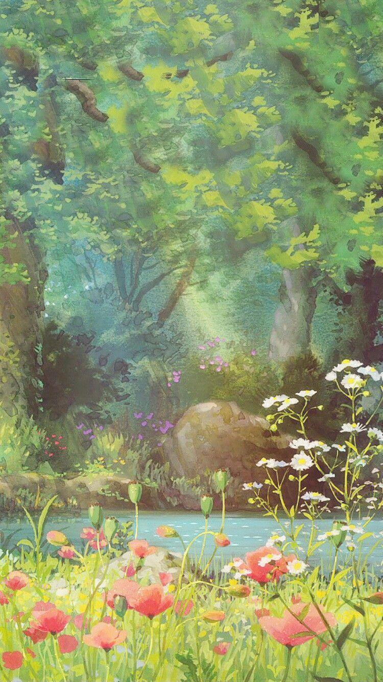 Studio Ghibli Iphone Wallpapers Top Free Studio Ghibli