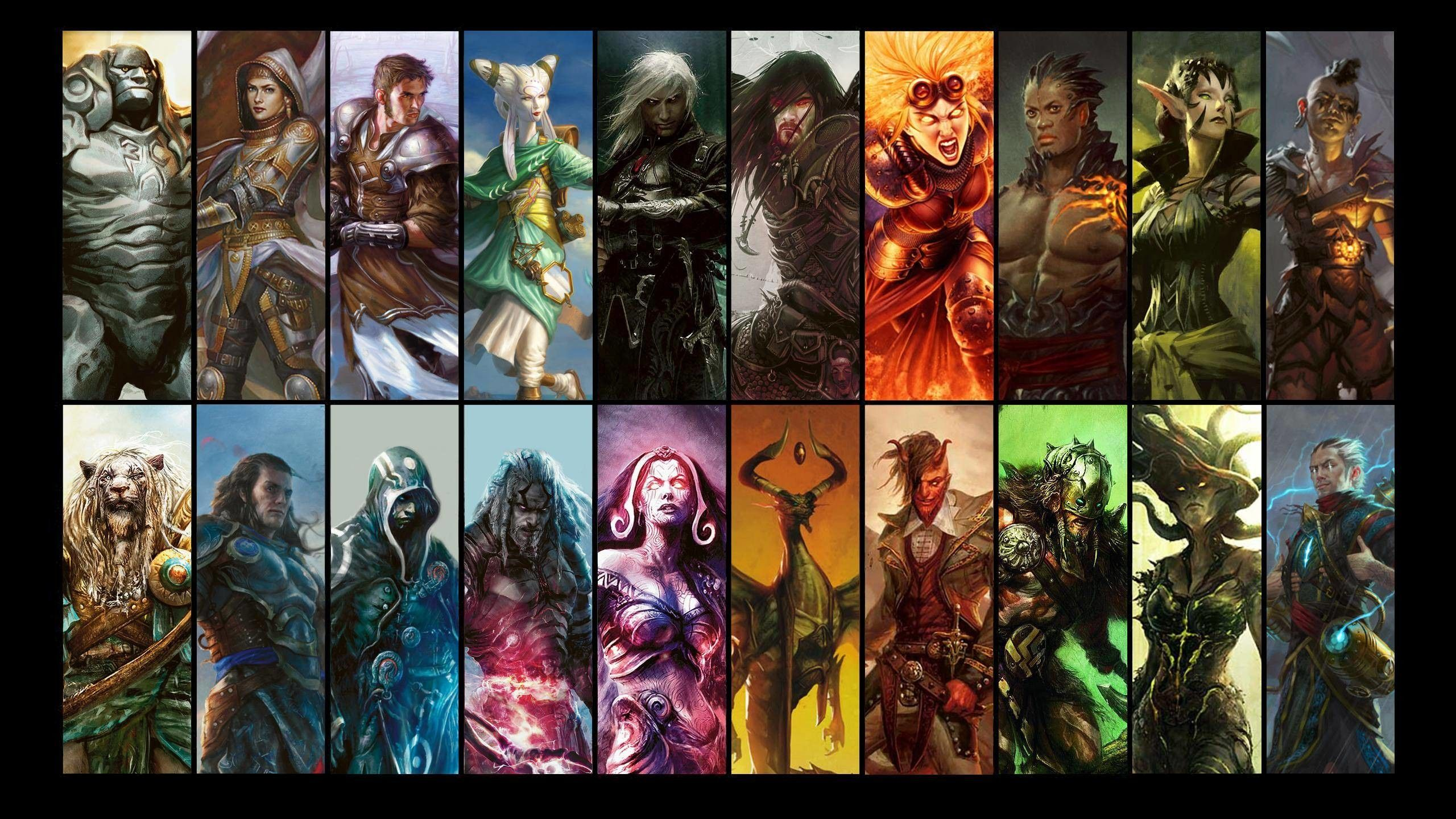 Afbeeldingsresultaat voor magic the gathering planeswalkers