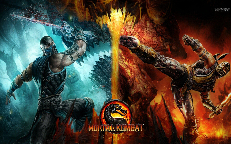 Cool Mortal Kombat Background