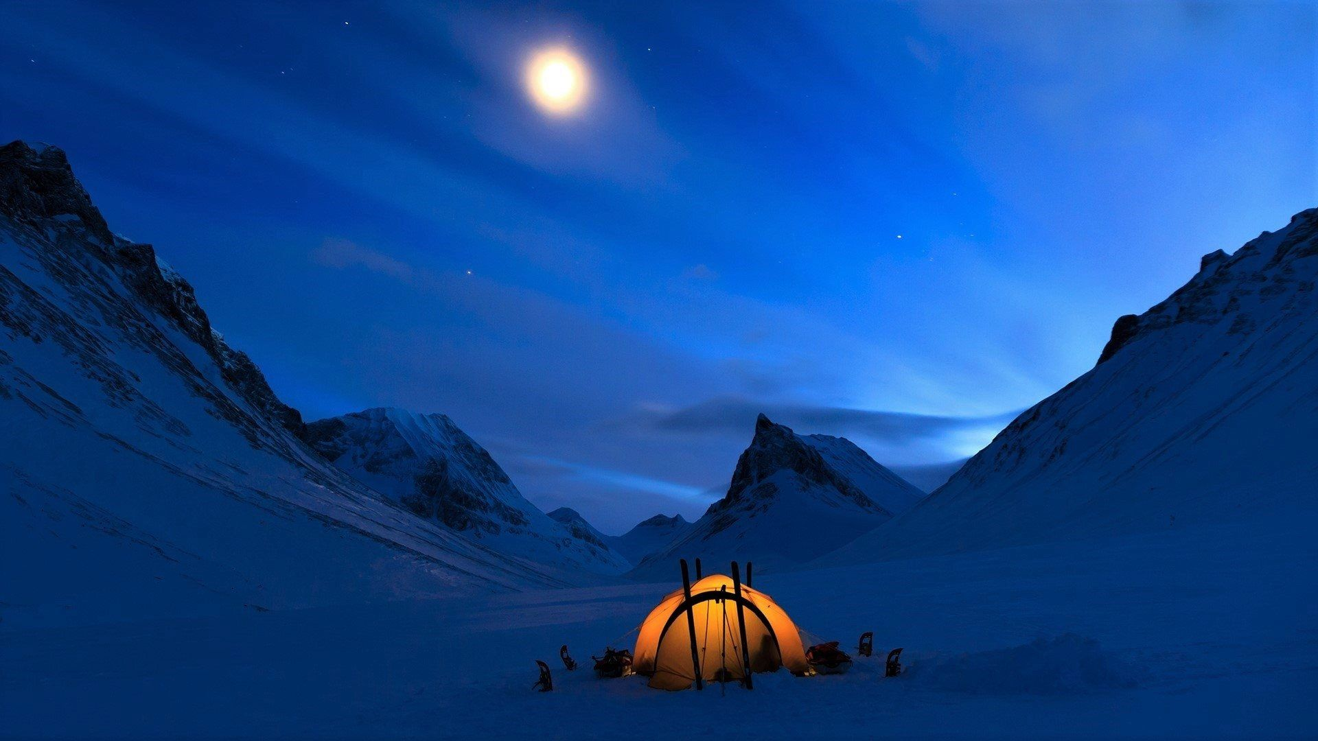 Winter Camping Wallpapers - Top Free Winter Camping ...