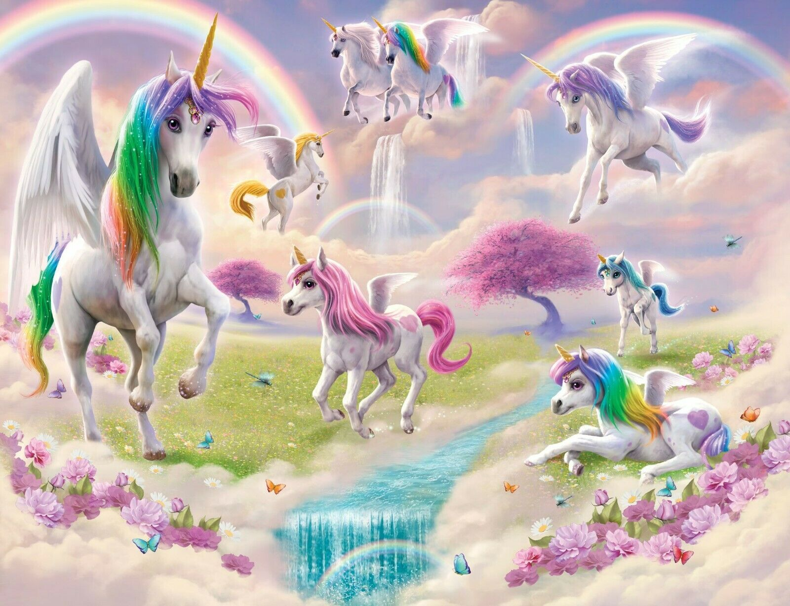 Magical Unicorn Wallpapers Top Free Magical Unicorn Backgrounds Wallpaperaccess