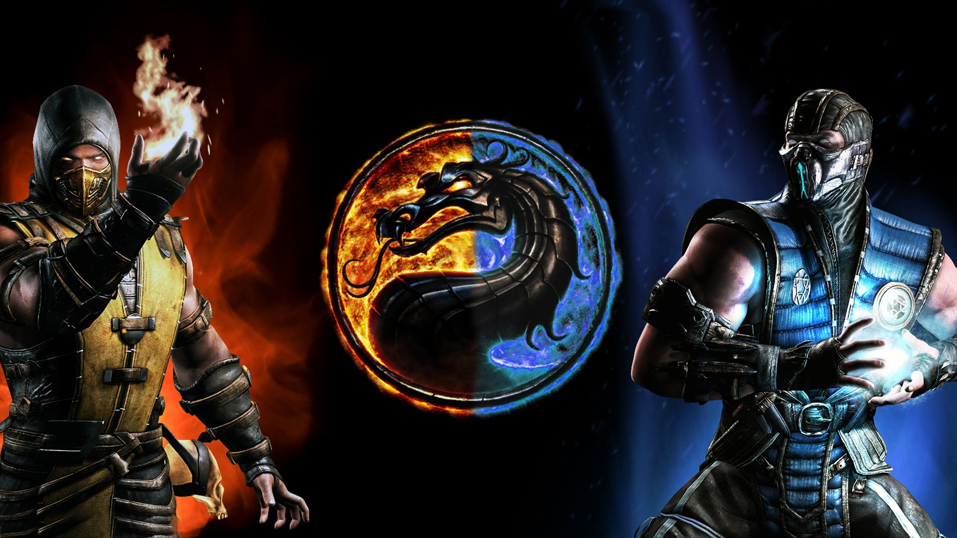Mortal Kombat Scorpion Vs Sub Zero Wallpapers Top Free