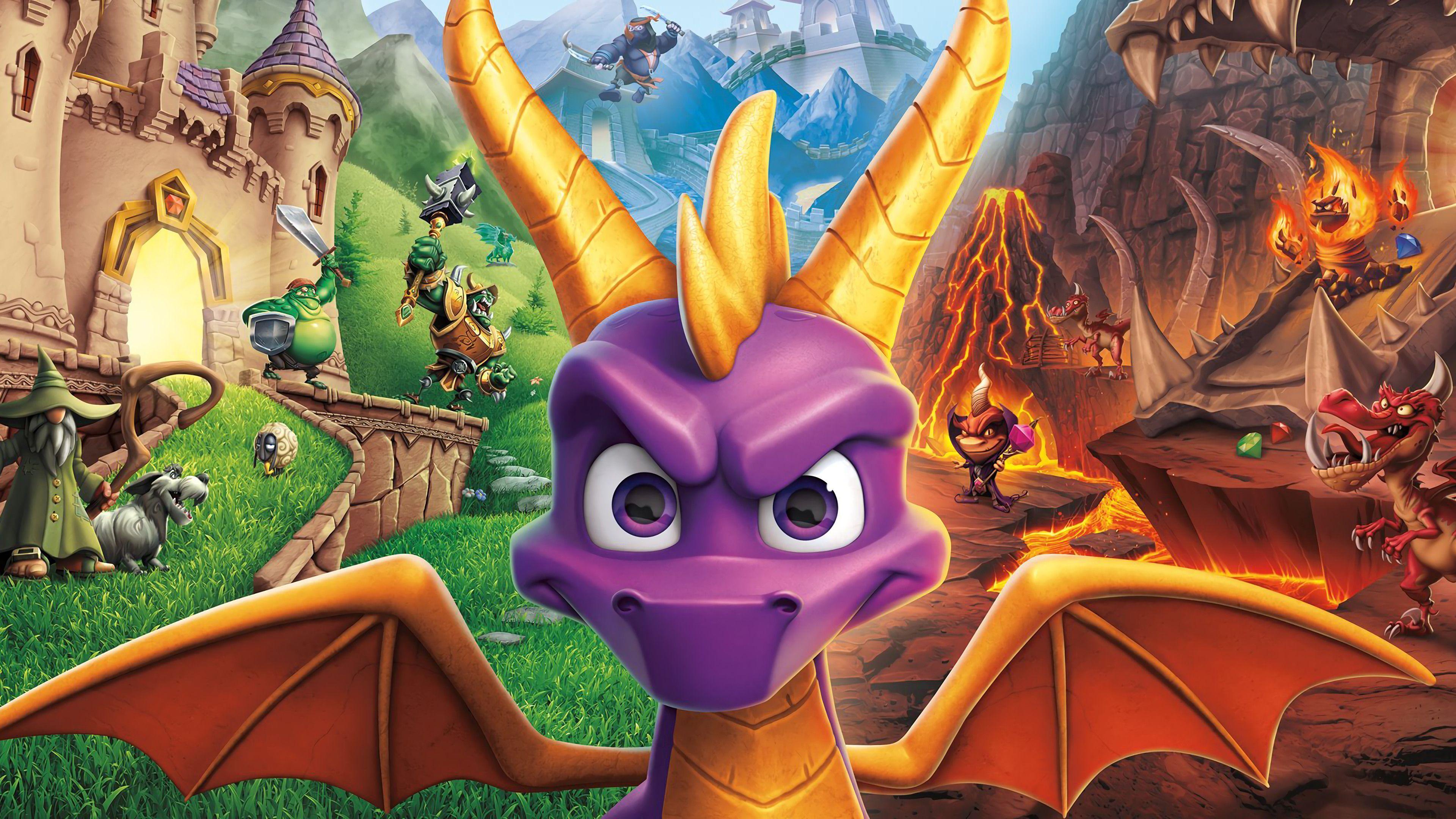 Spyro Screensaver