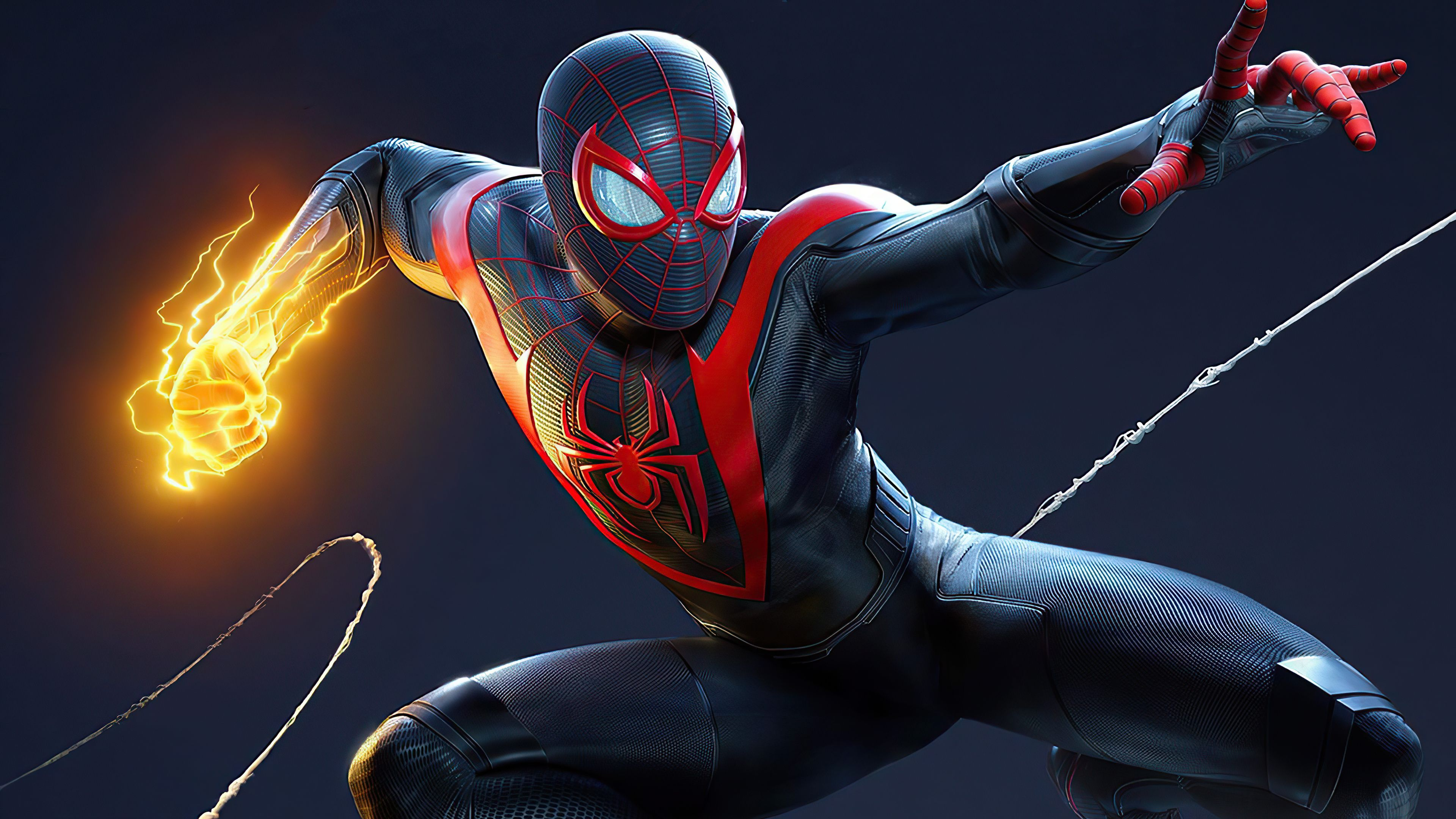 Spider Man Miles Morales Ps5 Wallpapers Top Free Spider Man Miles Morales Ps5 Backgrounds Wallpaperaccess
