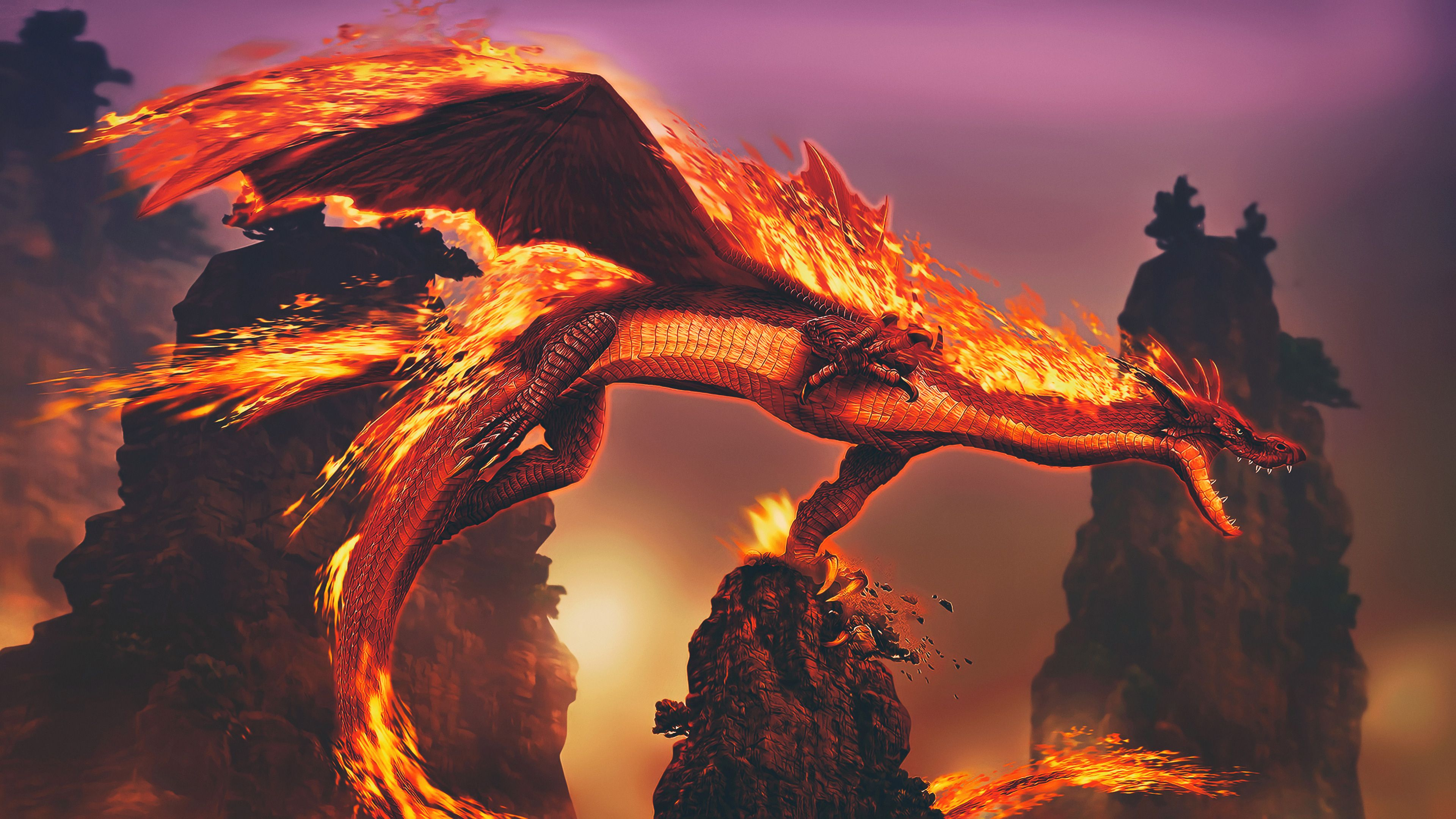 4K Fire Wallpapers - Top Free 4K Fire Backgrounds ...
