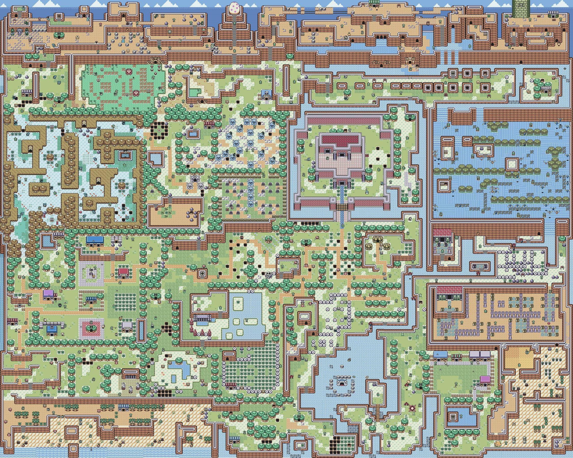 Zelda Map Wallpapers Top Free Zelda Map Backgrounds Wallpaperaccess
