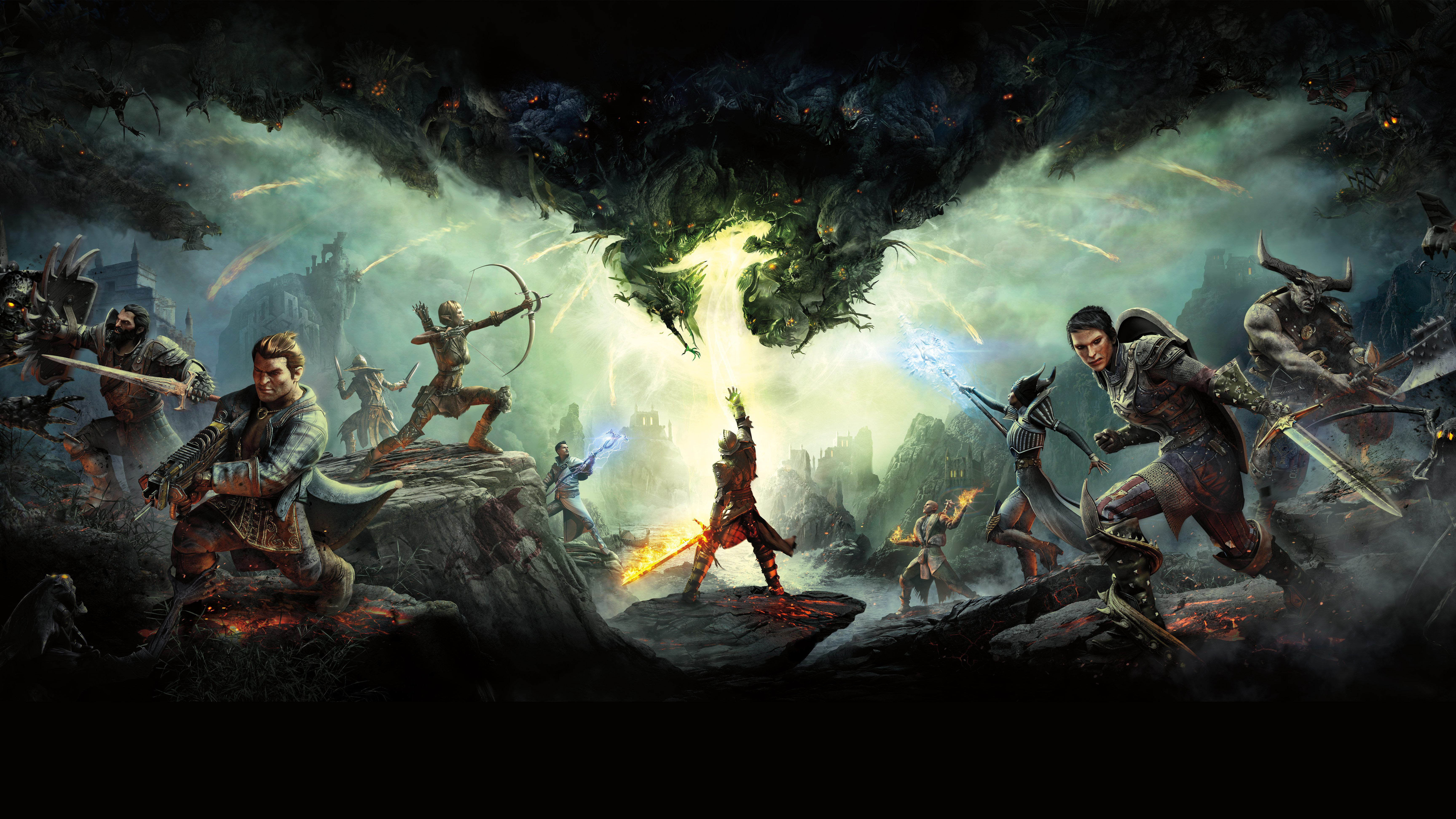Dragon Age Inquisition Wallpapers Top Free Dragon Age Inquisition Backgrounds Wallpaperaccess