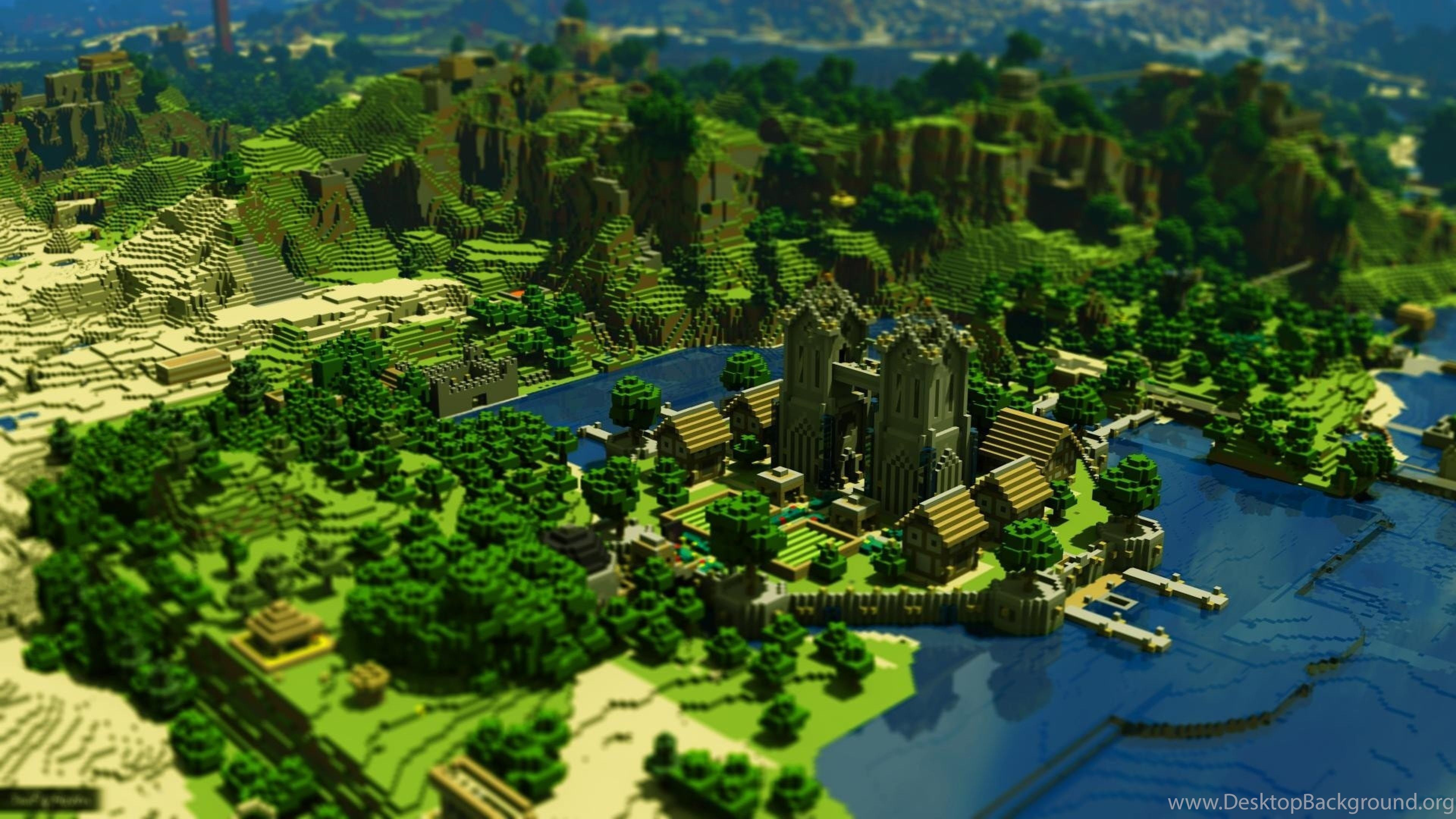 4k Minecraft Wallpapers Top Free 4k Minecraft Backgrounds Wallpaperaccess