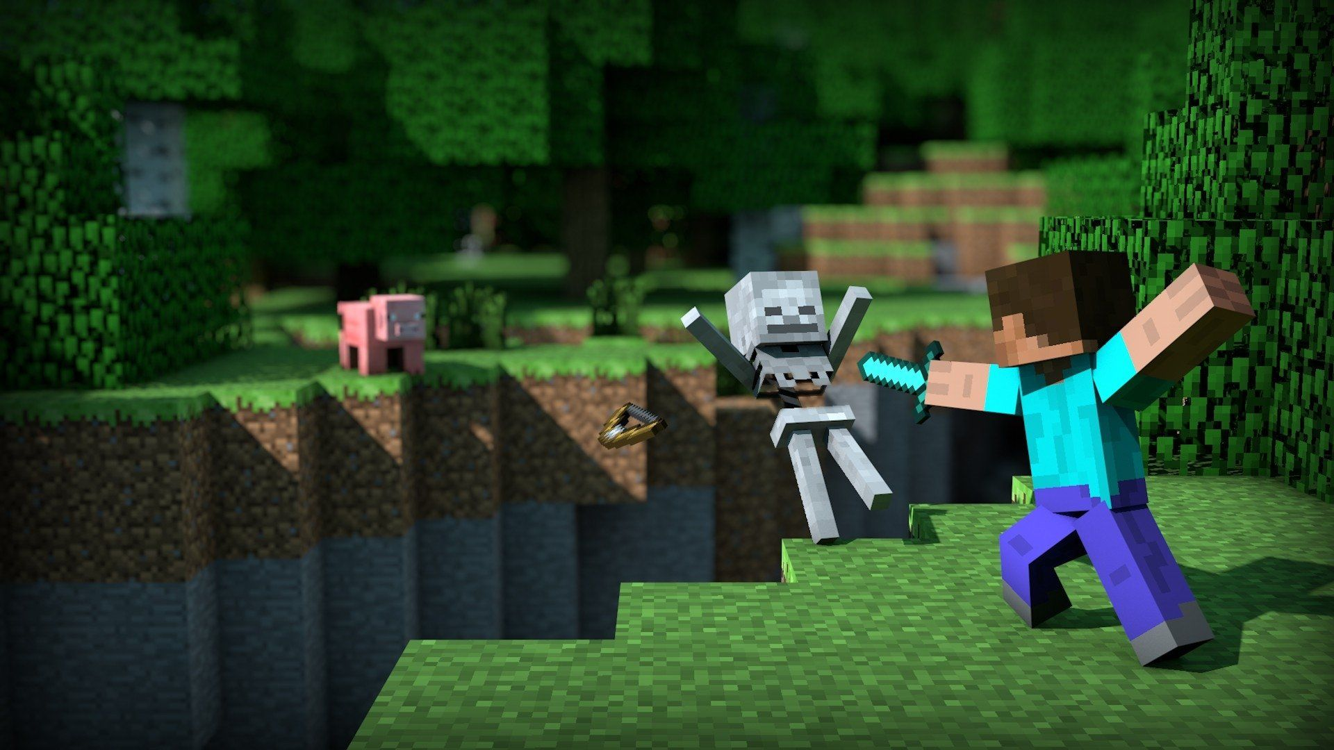 Minecraft Pc Wallpapers Top Free Minecraft Pc Backgrounds