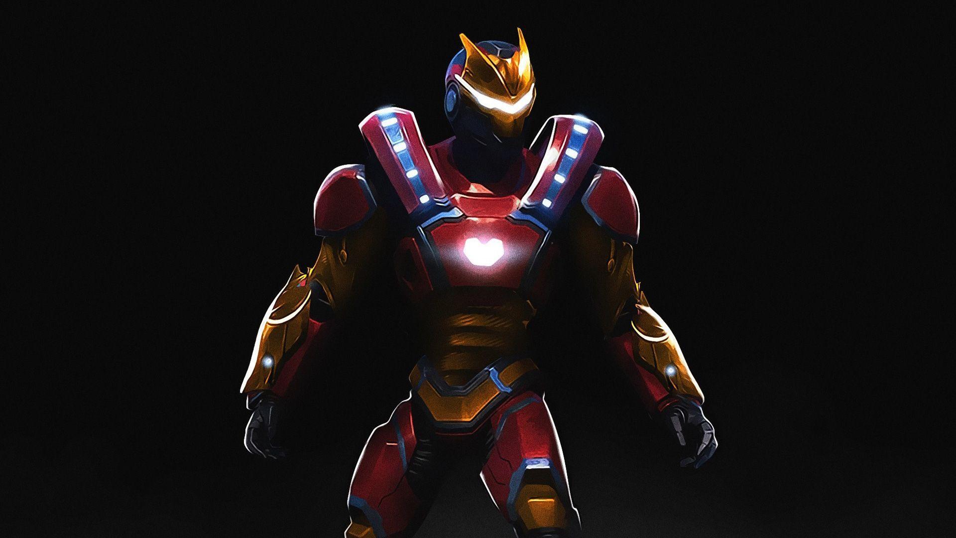 Carbide Iron Man Fortnite Fortnite Marvel Wallpapers Top Free Fortnite Marvel Backgrounds Wallpaperaccess