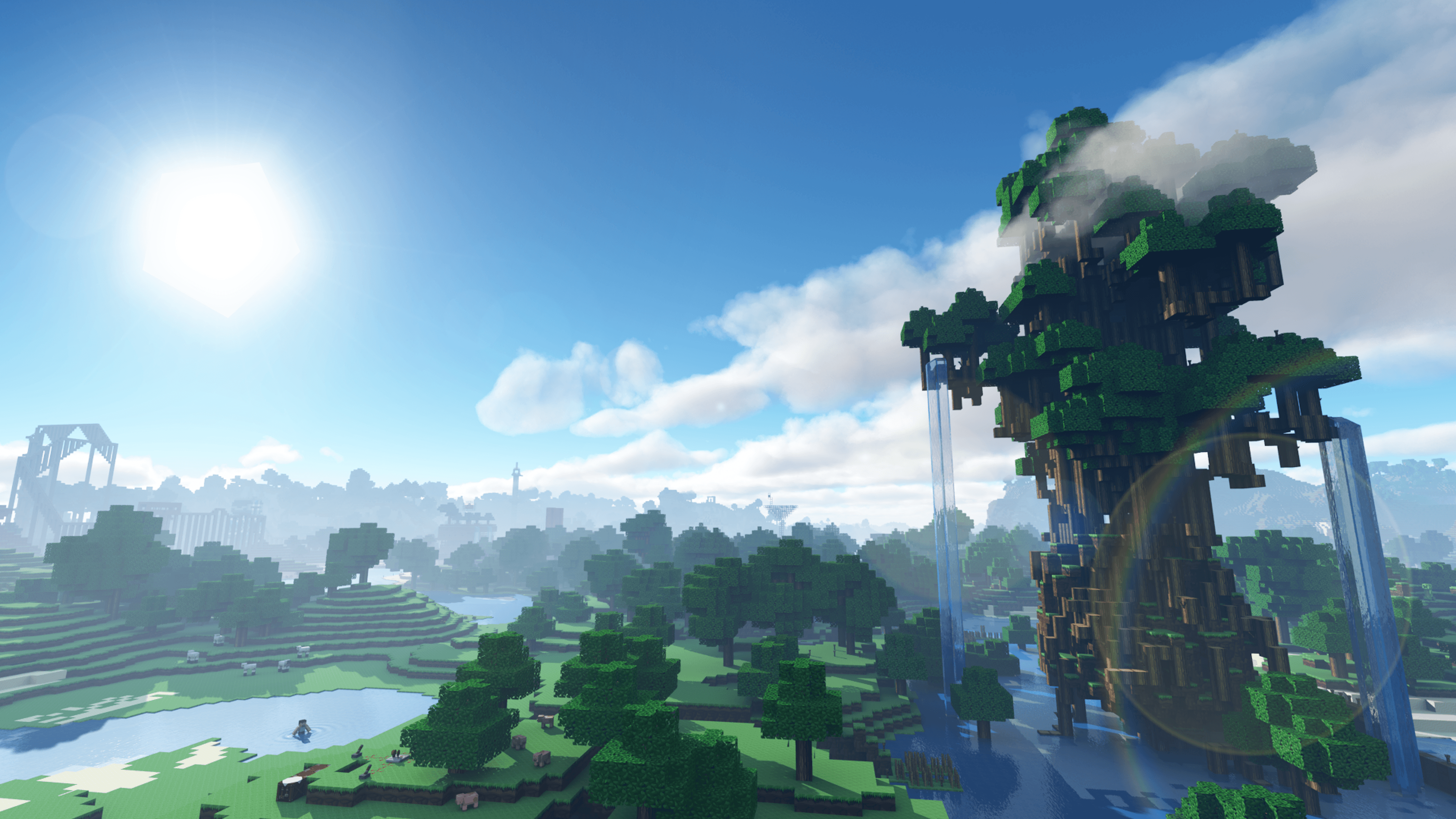 4k Minecraft Wallpapers Top Free 4k Minecraft Backgrounds