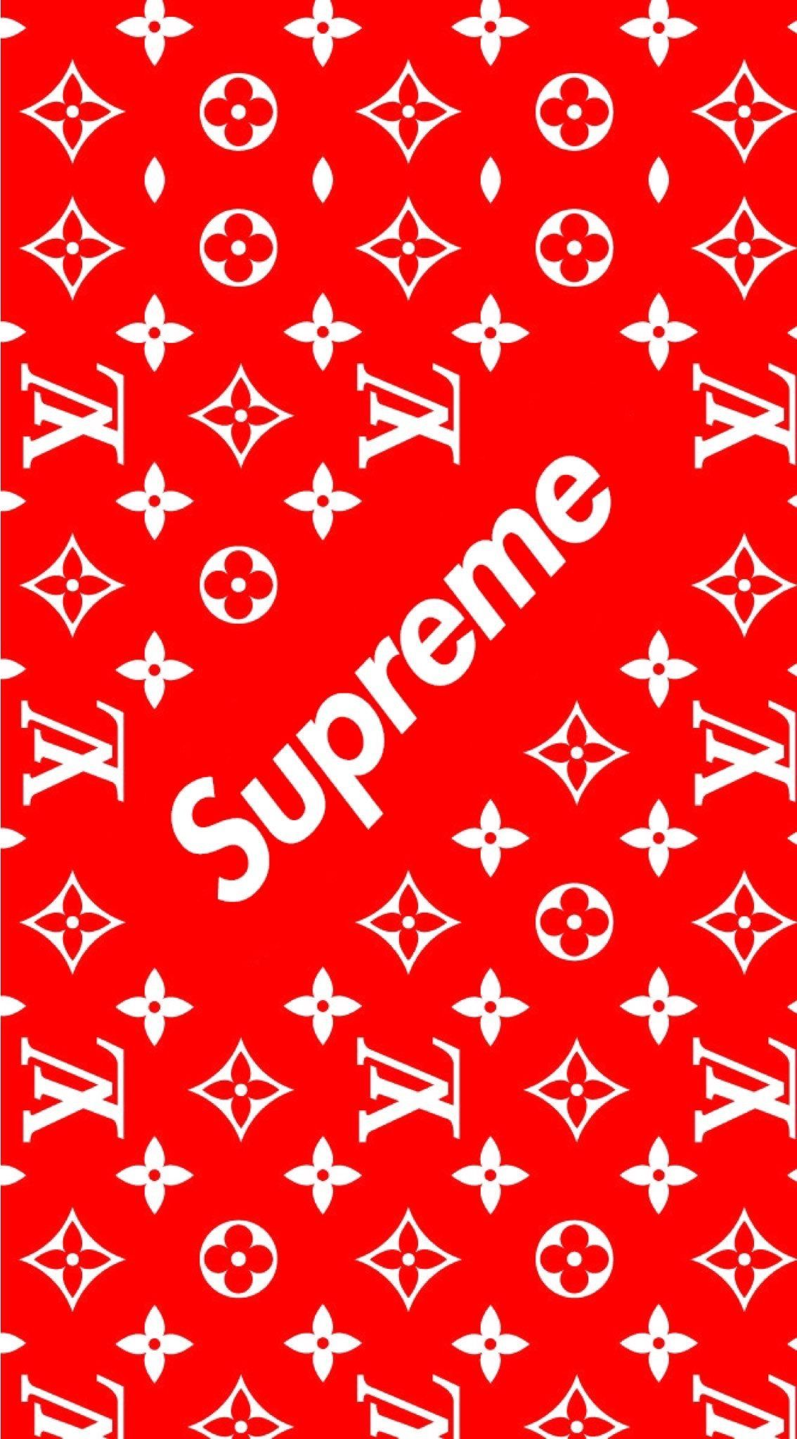 Louis Vuitton Supreme Logo Wallpapers Top Free Louis