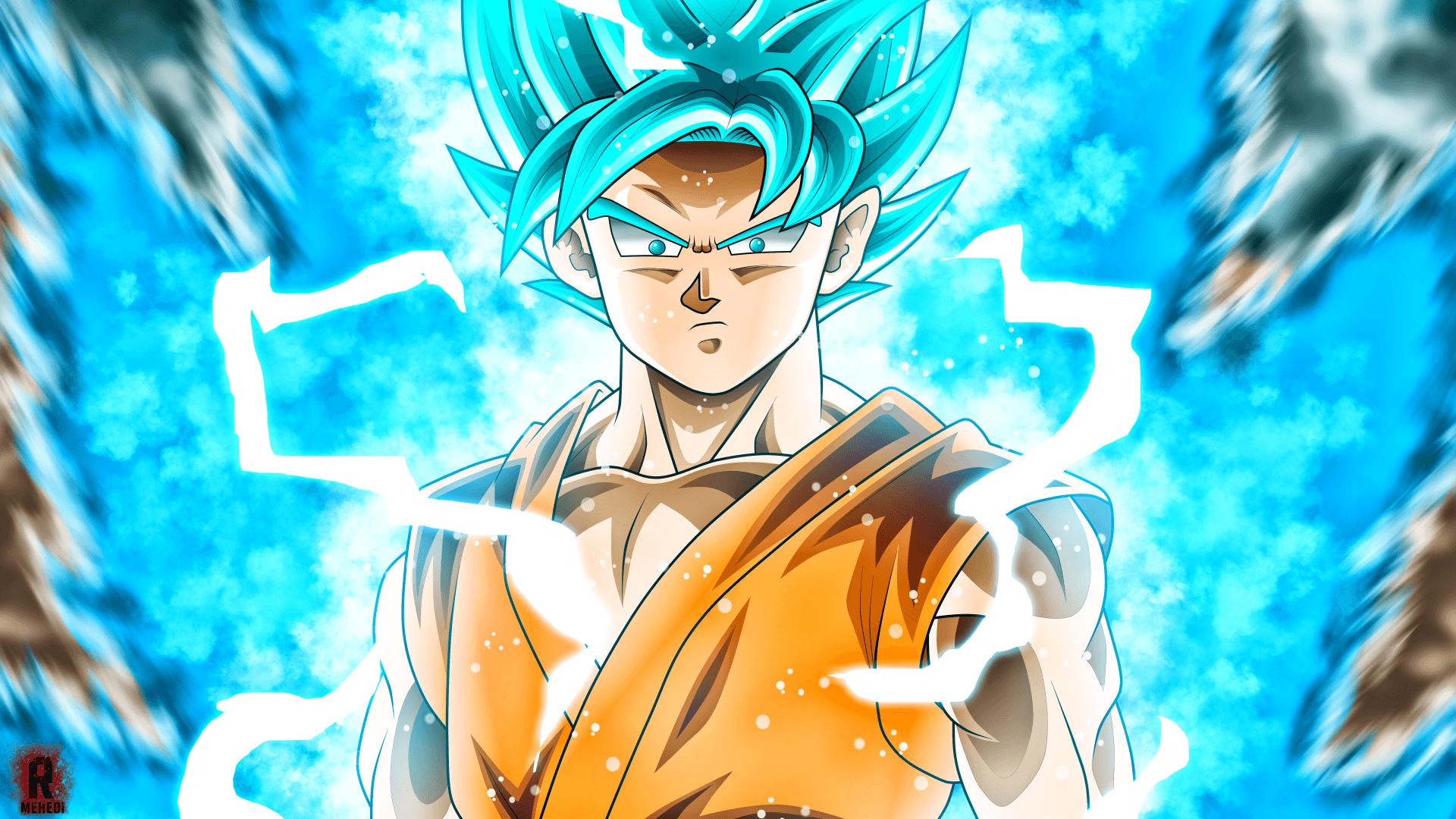 Goku God Wallpapers Top Free Goku God Backgrounds Wallpaperaccess