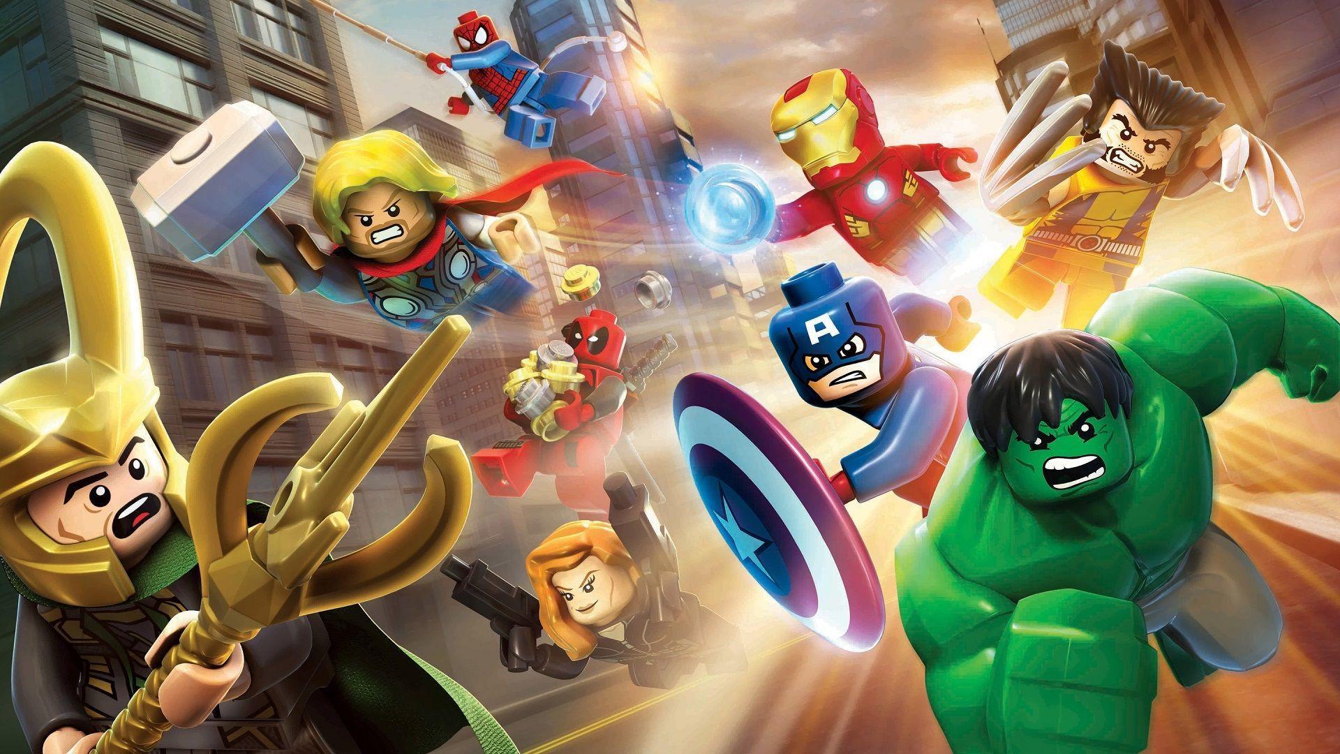 LEGO Marvel Vs  DC Wallpapers - Top Free LEGO Marvel Vs  DC