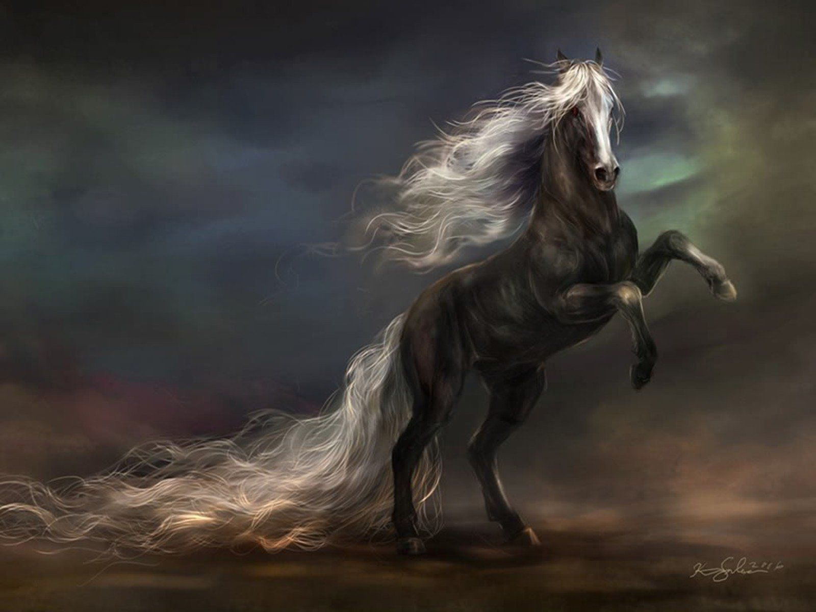 Horse Art Wallpapers Top Free Horse Art Backgrounds Wallpaperaccess
