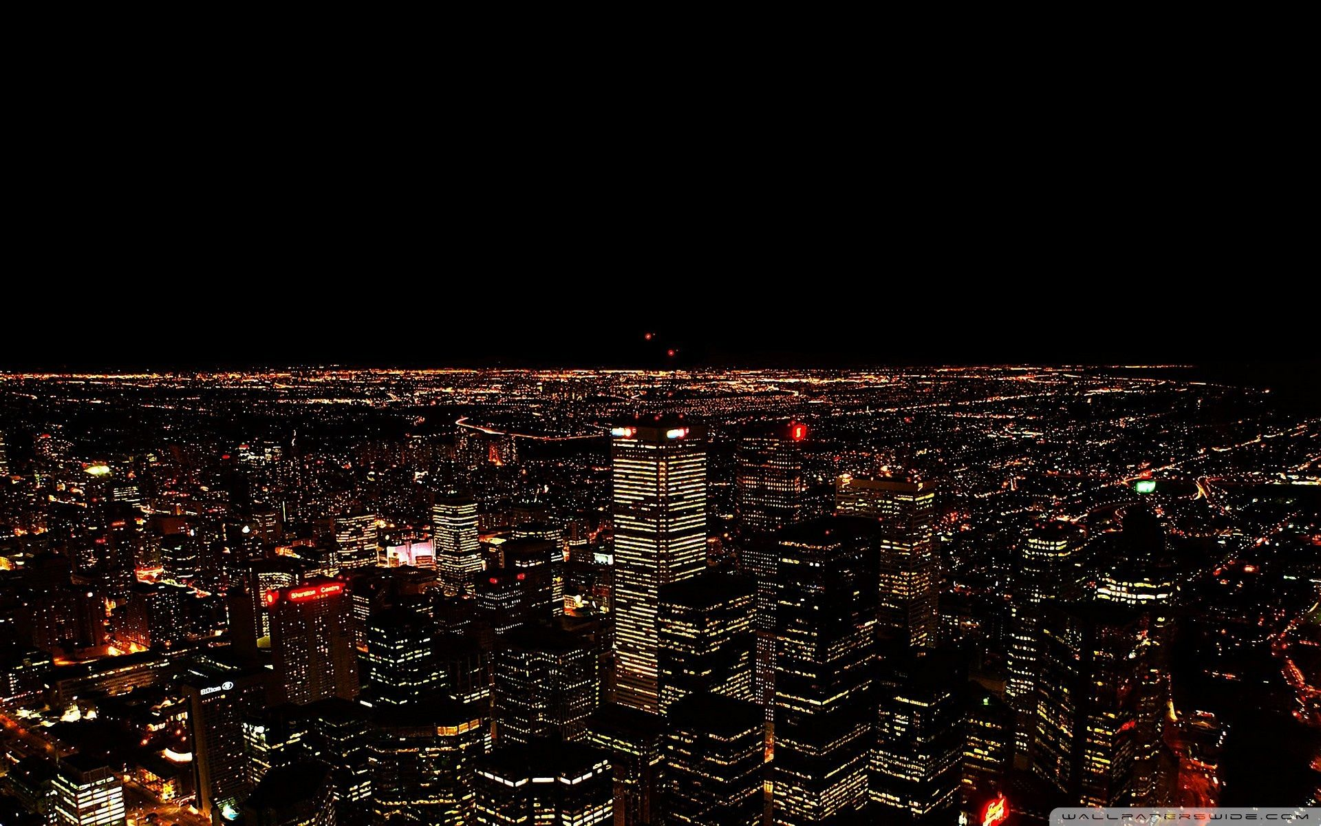 Cityscape Night Wallpapers Top Free Cityscape Night Backgrounds Wallpaperaccess