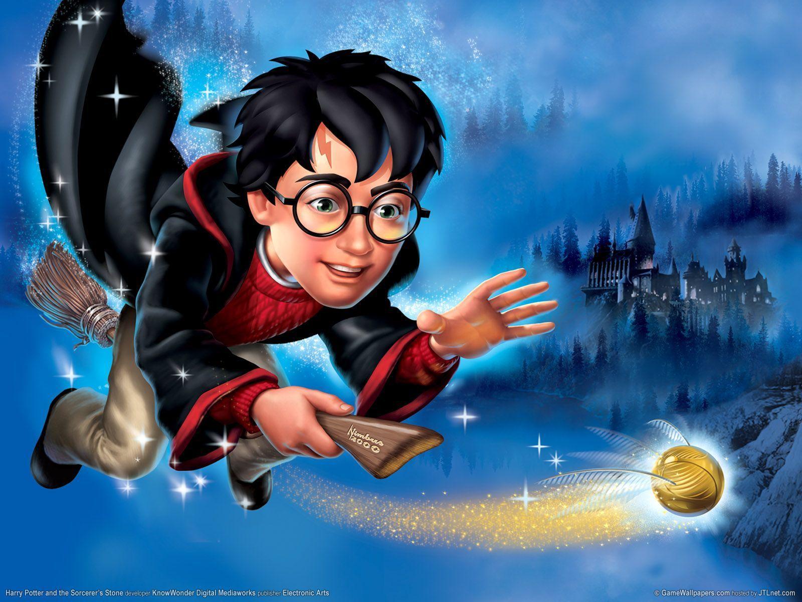 Harry Potter Cartoon Wallpapers Top Free Harry Potter