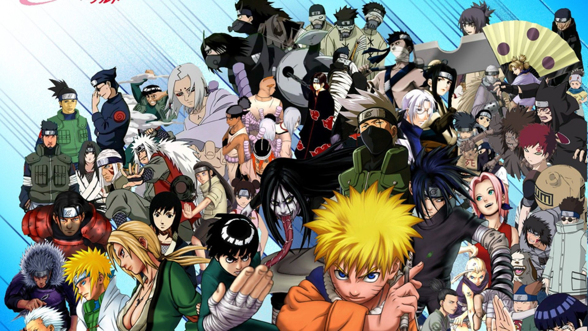 Naruto Group Wallpapers Top Free Naruto Group Backgrounds