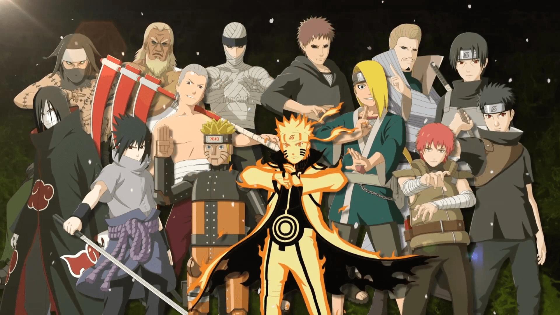 Naruto Shippuden All Characters Wallpapers Top Free Naruto Shippuden All Characters Backgrounds Wallpaperaccess