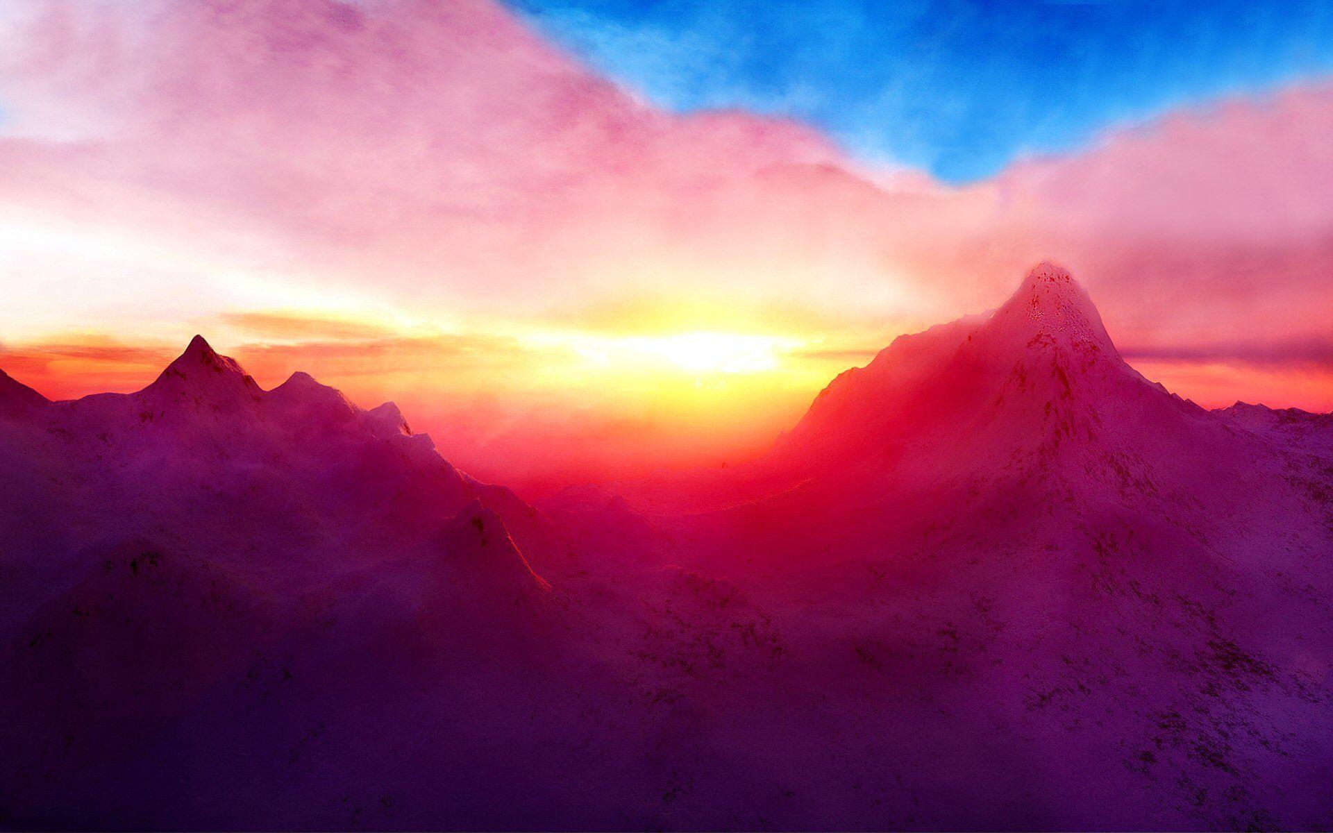 1920x1200 Mountain HD Hình nền và Hình nền