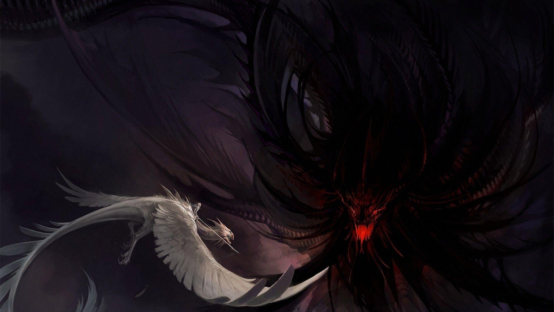1920x1080 Hình nền sói quỷ