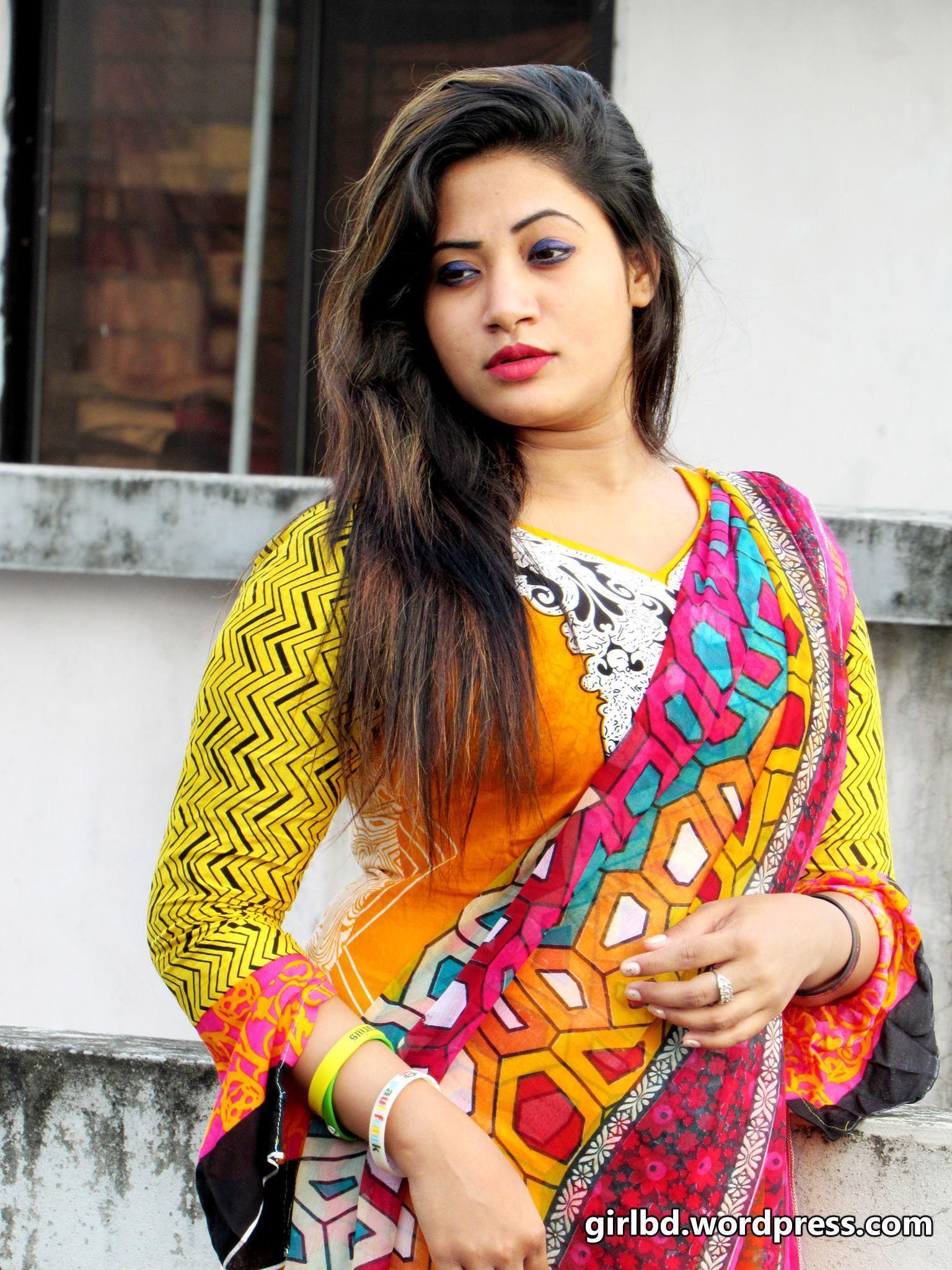 Bangladeshi Village girl photo - YouTube