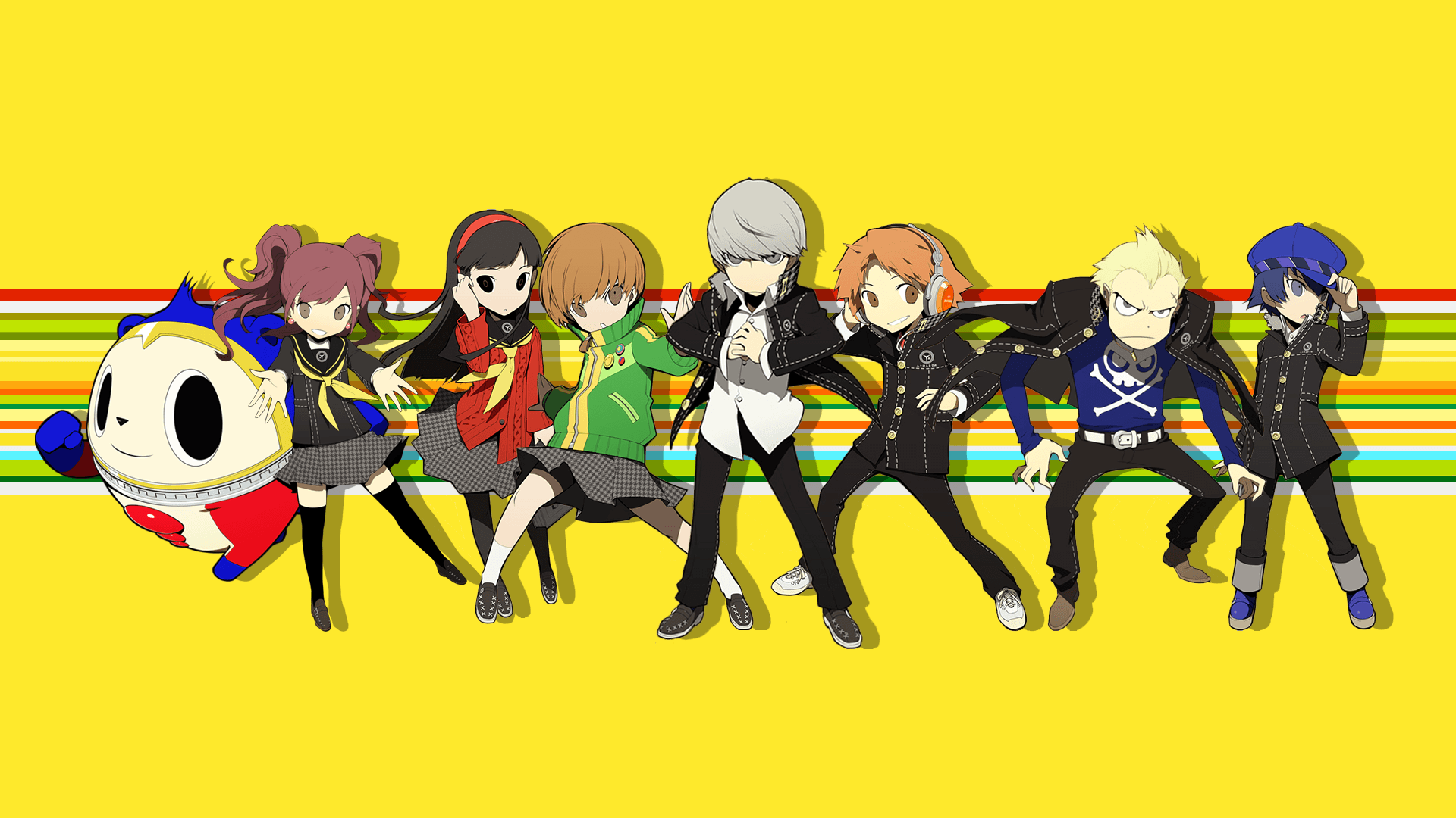 Persona 4 Wallpapers Top Free Persona 4 Backgrounds Wallpaperaccess