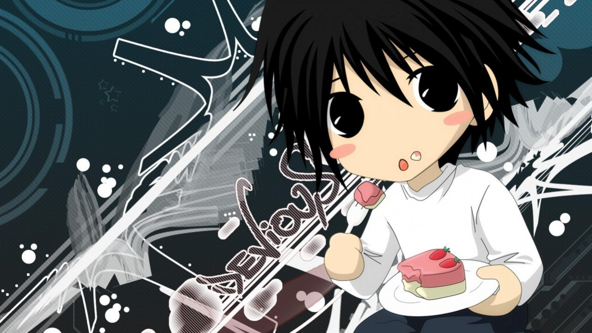 Death Note Chibi Wallpapers Top Free Death Note Chibi Backgrounds Wallpaperaccess