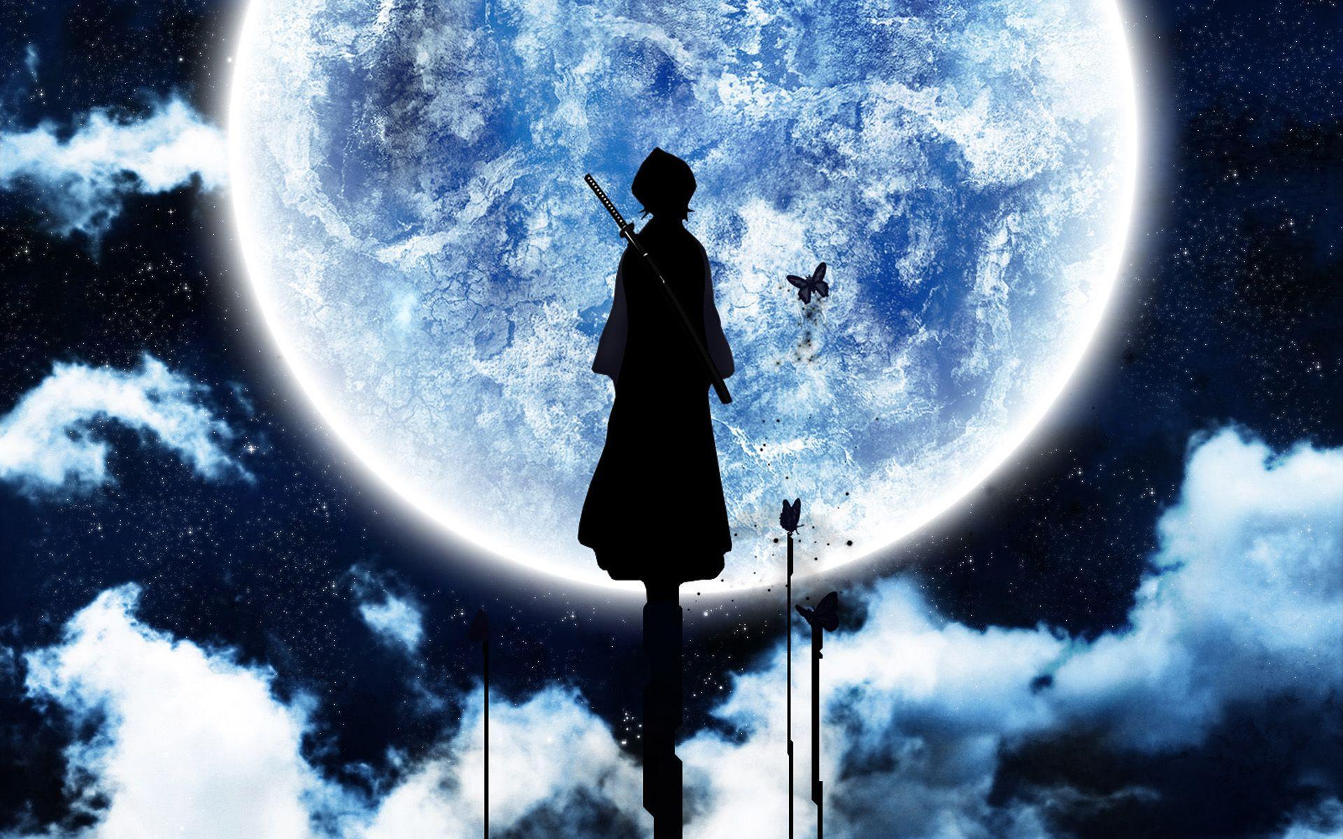 Anime sfondi luna