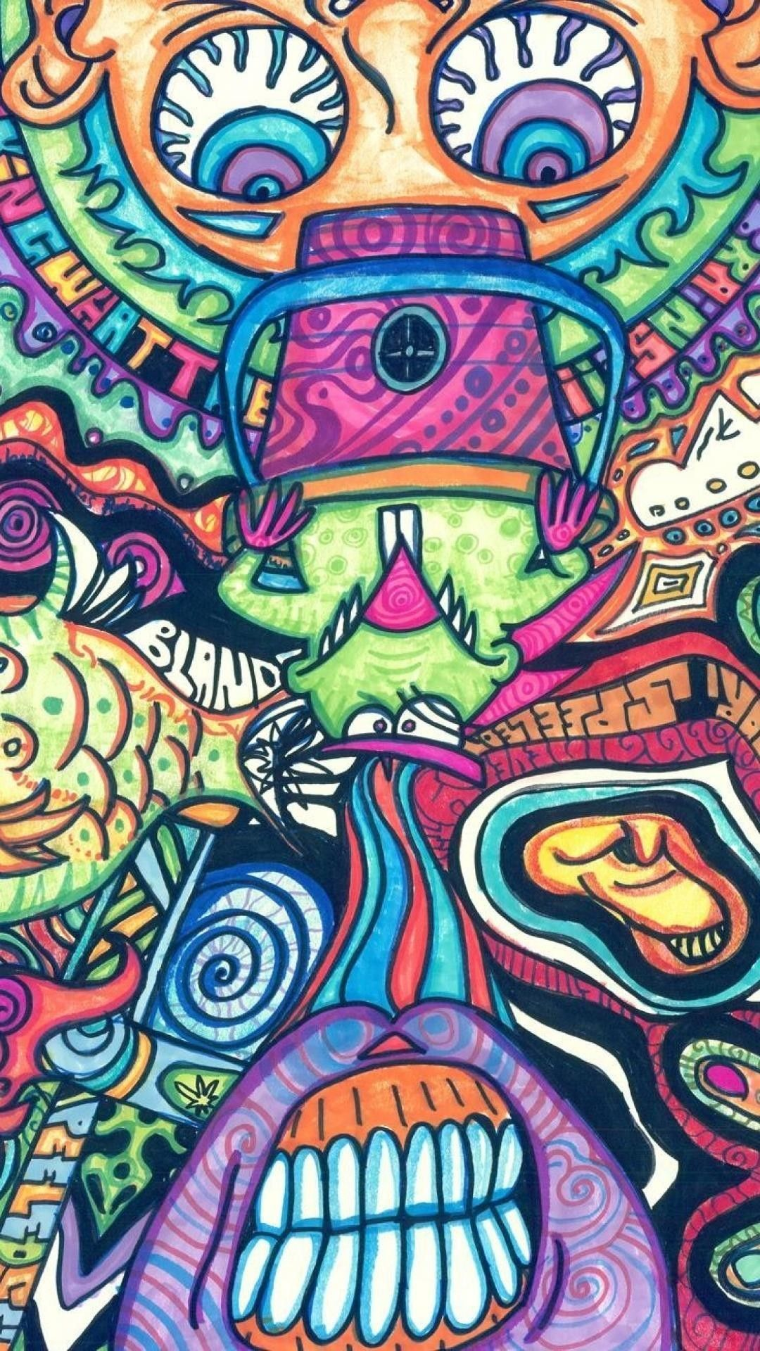 Bart Simpson Trippy Wallpapers - Top Free Bart Simpson ...