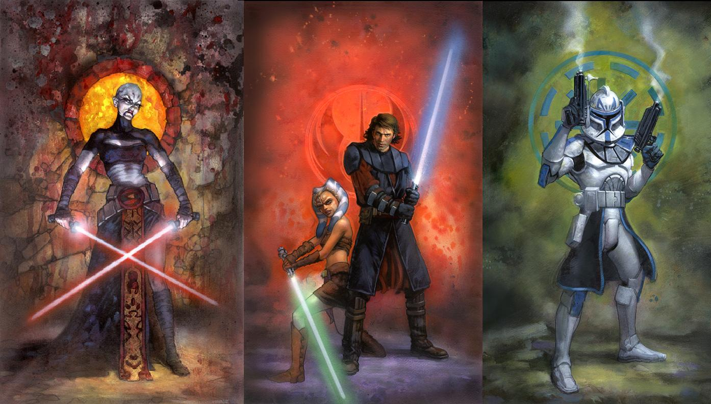 Clone Wars Wallpapers Top Free Clone Wars Backgrounds Wallpaperaccess