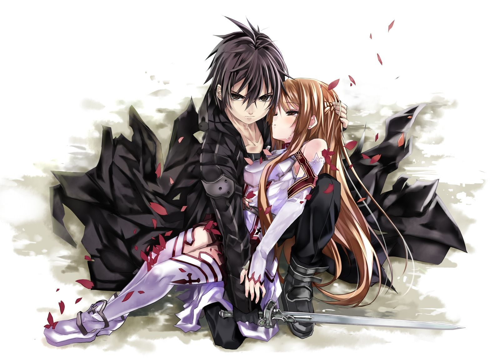 Anime Love Wallpapers Top Free Anime Love Backgrounds Wallpaperaccess