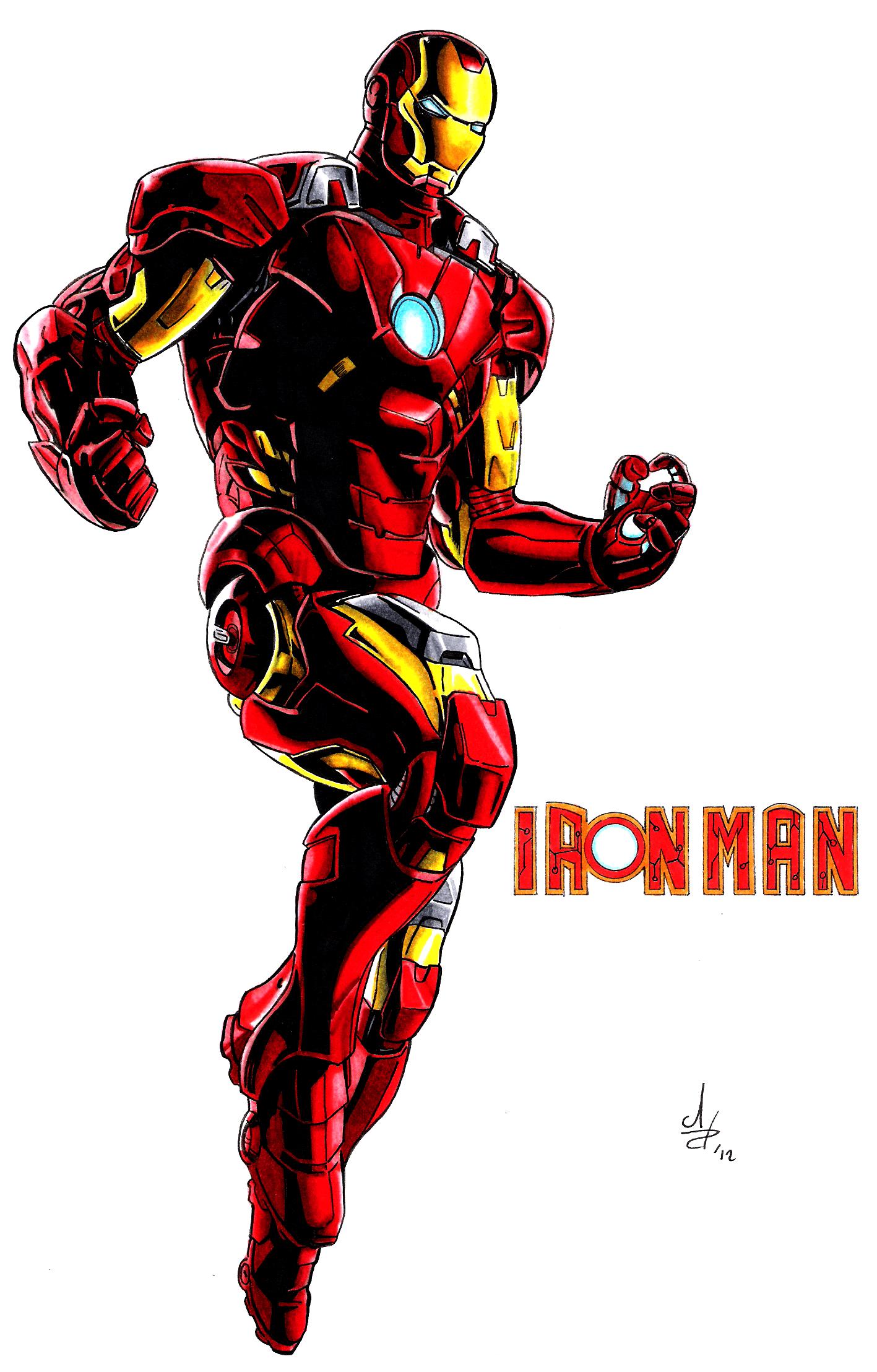 Avengers cartoon wallpapers top free avengers cartoon - Iron man cartoon wallpaper ...