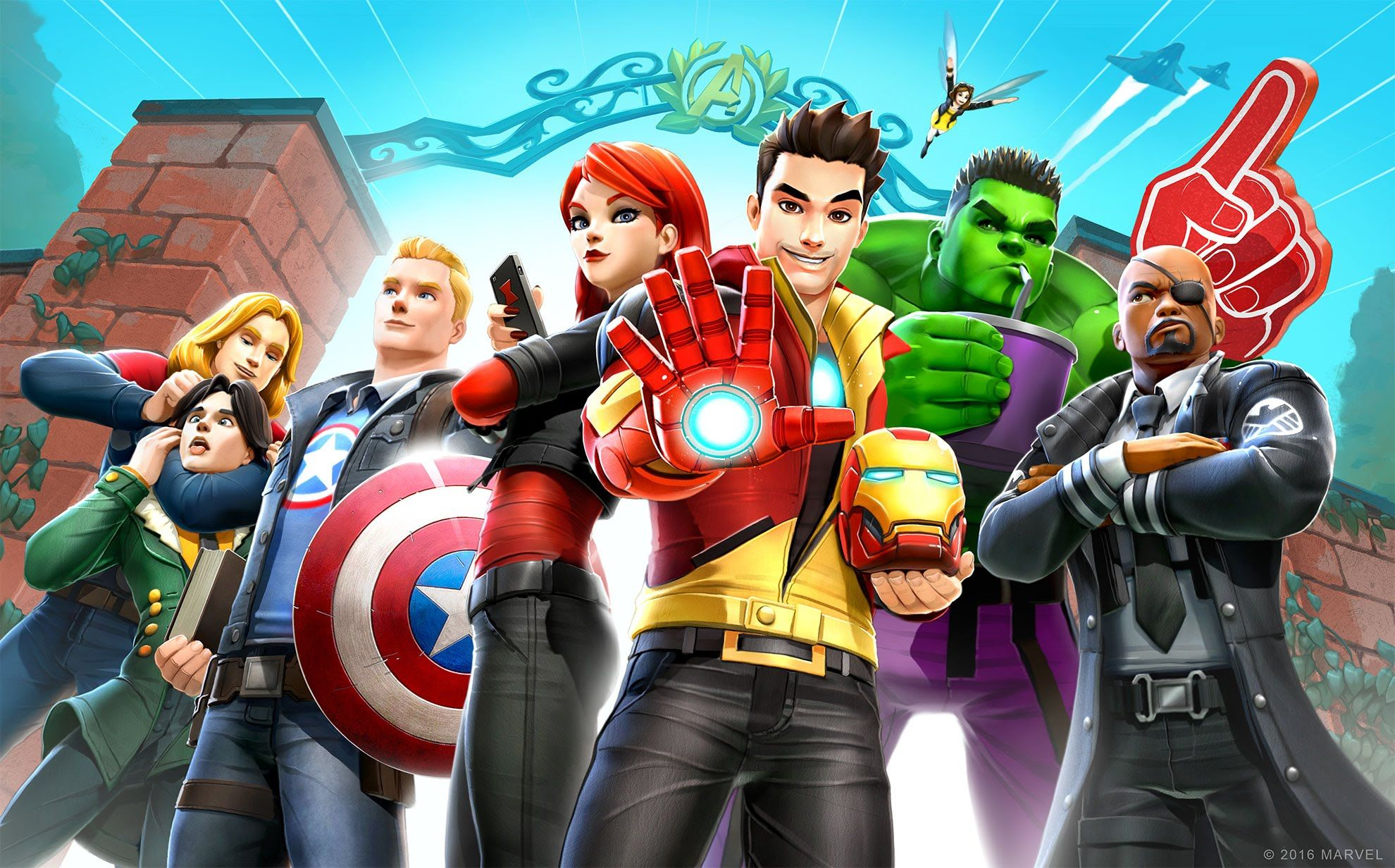 Avengers Cartoon Wallpapers - Top Free Avengers Cartoon ...