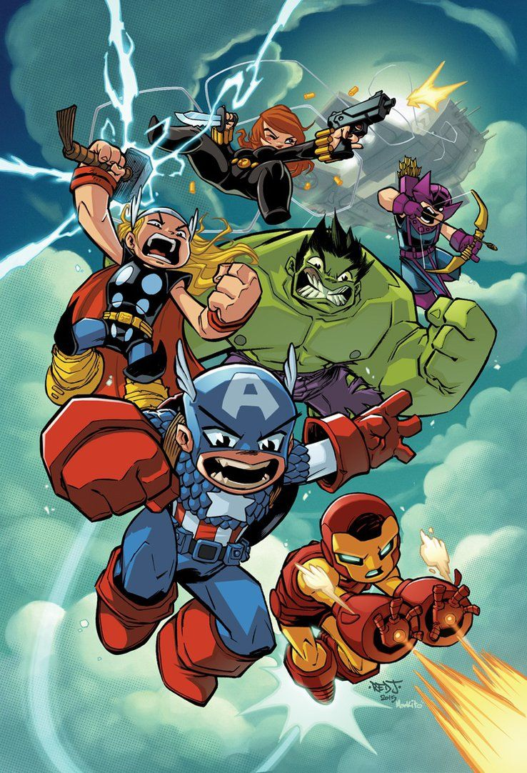 Avengers Cartoon Wallpapers Top Free Avengers Cartoon Backgrounds