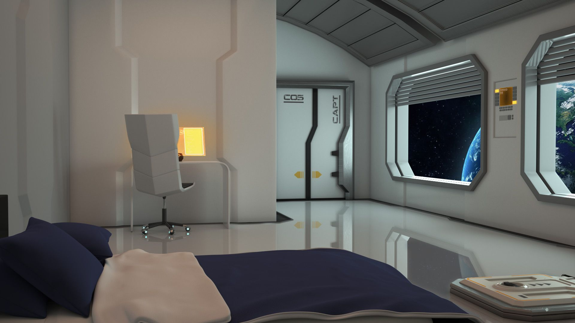 Sci fi home wallpapers top free sci fi home backgrounds for Sci fi decor