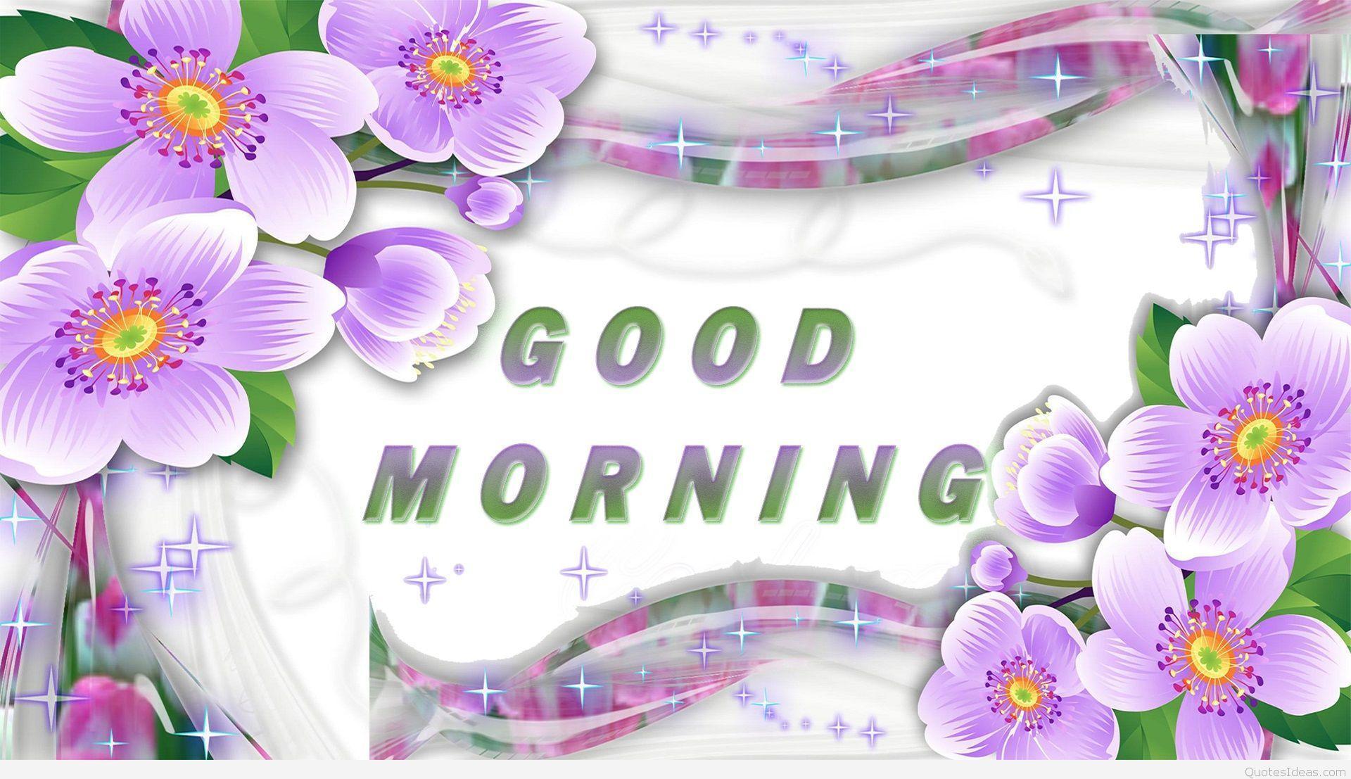 1920x1107 Hình nền đẹp Good Morning quote