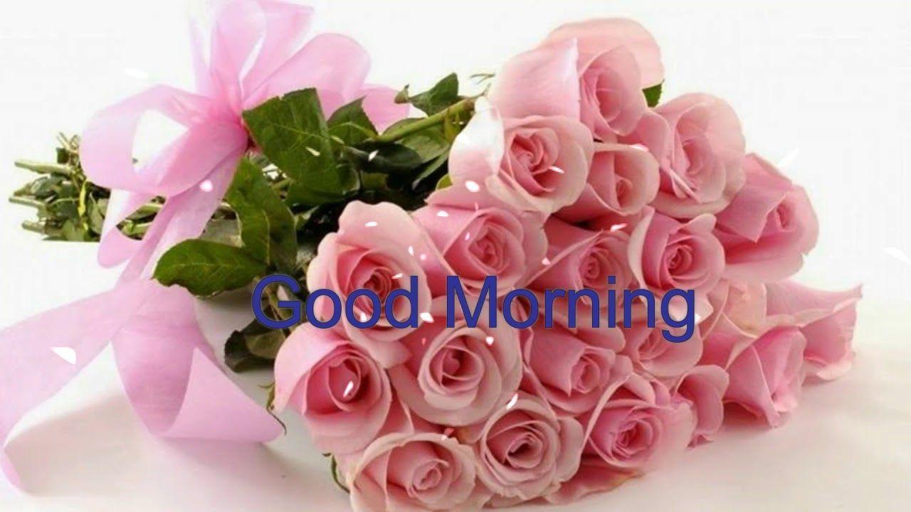 1280x720 Lời chúc buổi sáng tốt lành với hình nền hoa đẹp, hoa hồng