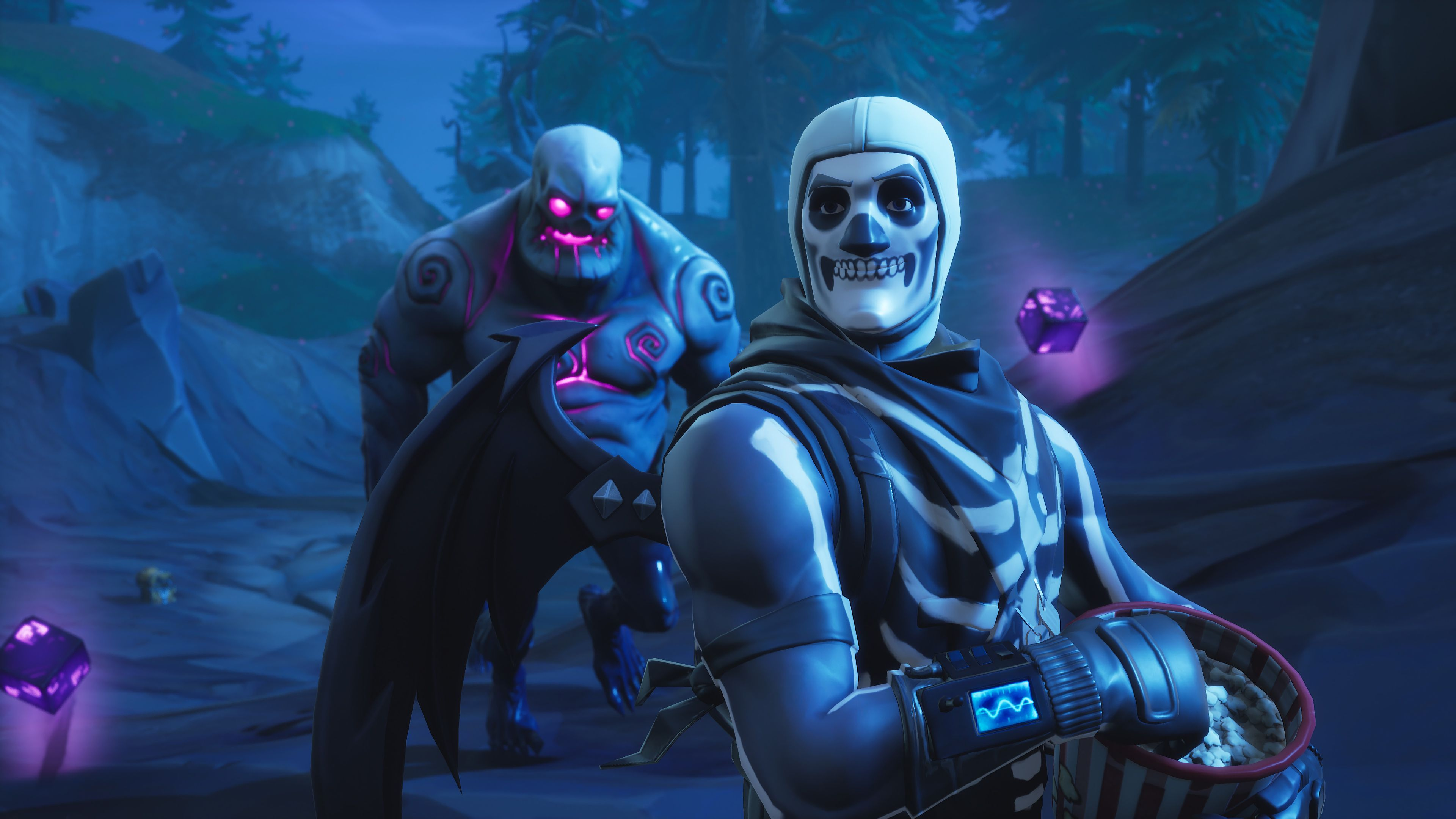 Fortnite Halloween Wallpapers Top Free Fortnite Halloween Backgrounds Wallpaperaccess