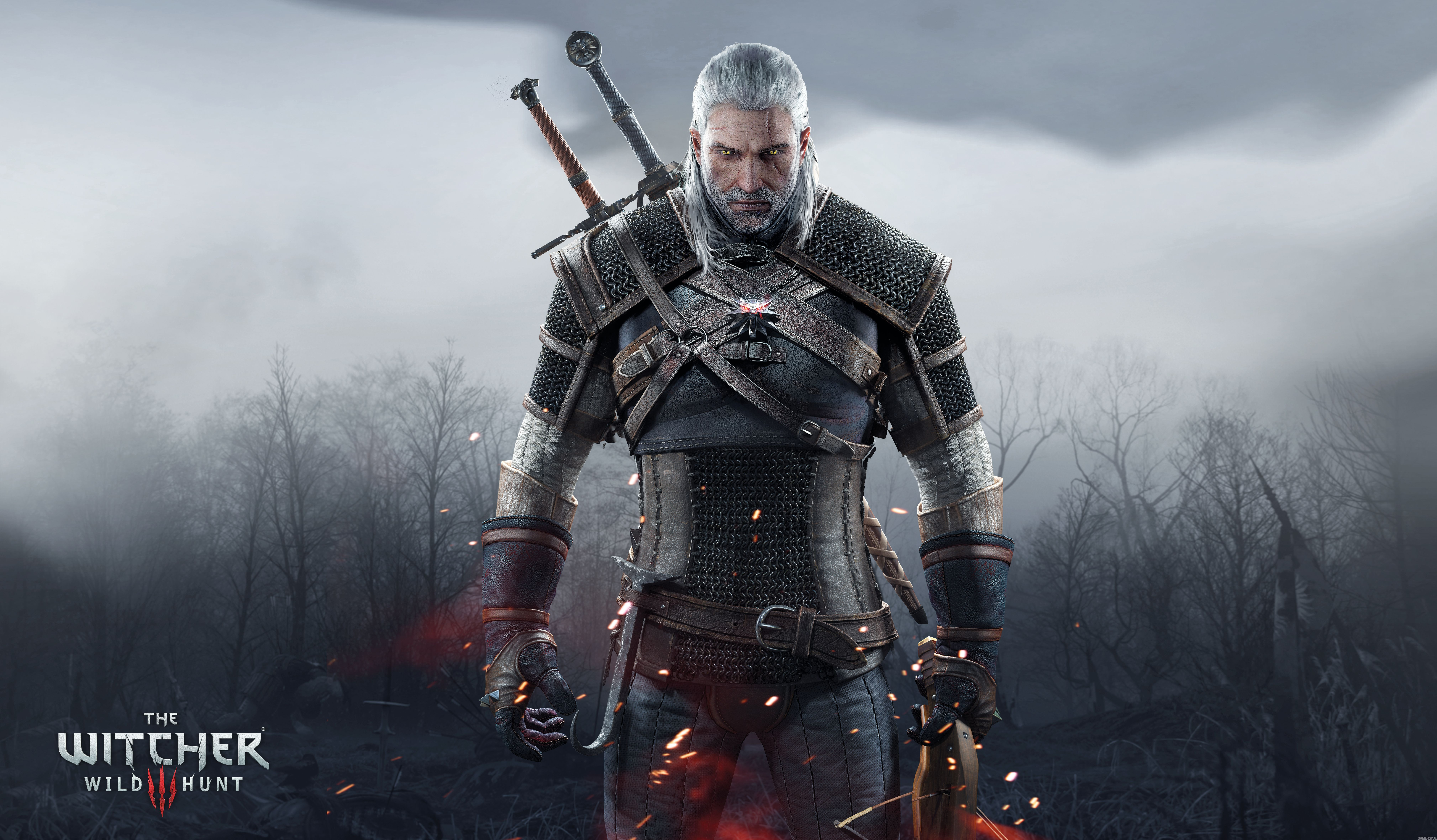 Witcher 4k Wallpapers Top Free Witcher 4k Backgrounds