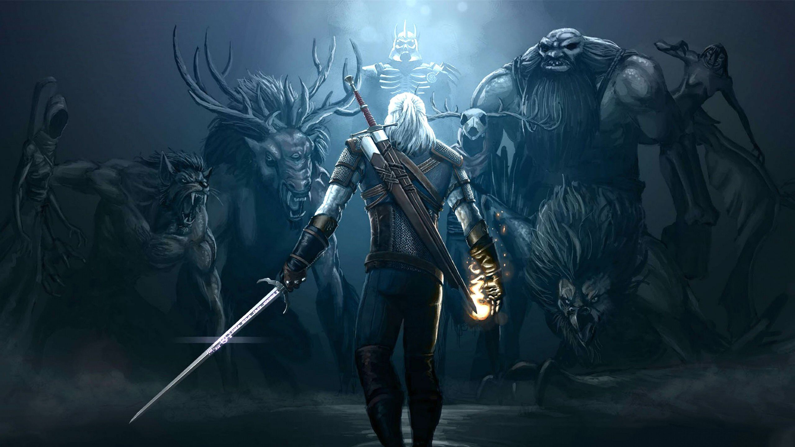The Witcher Wild Hunt HD Wallpapers and Background Images