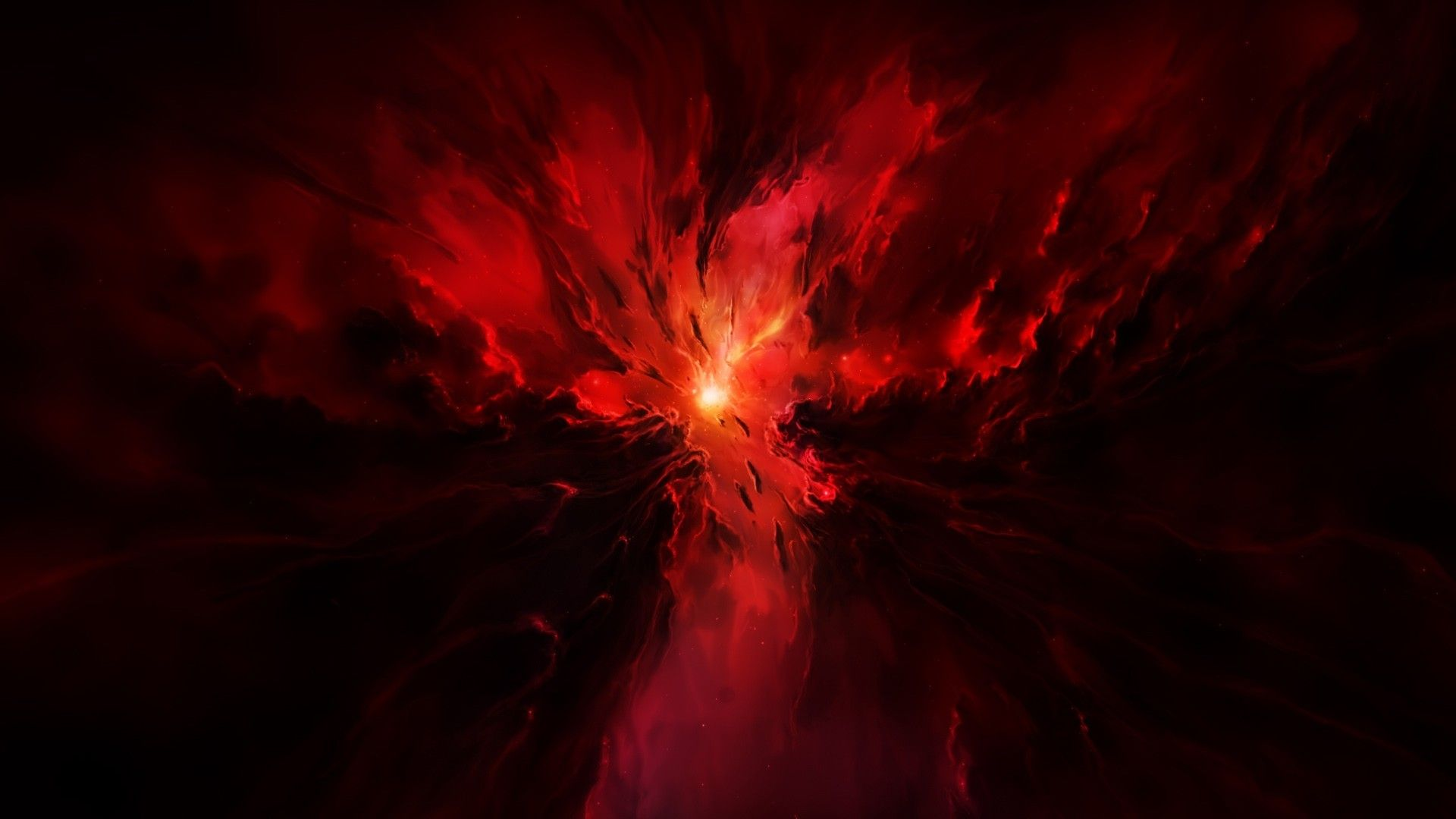 Red Space Wallpapers - Top Free Red Space Backgrounds ...