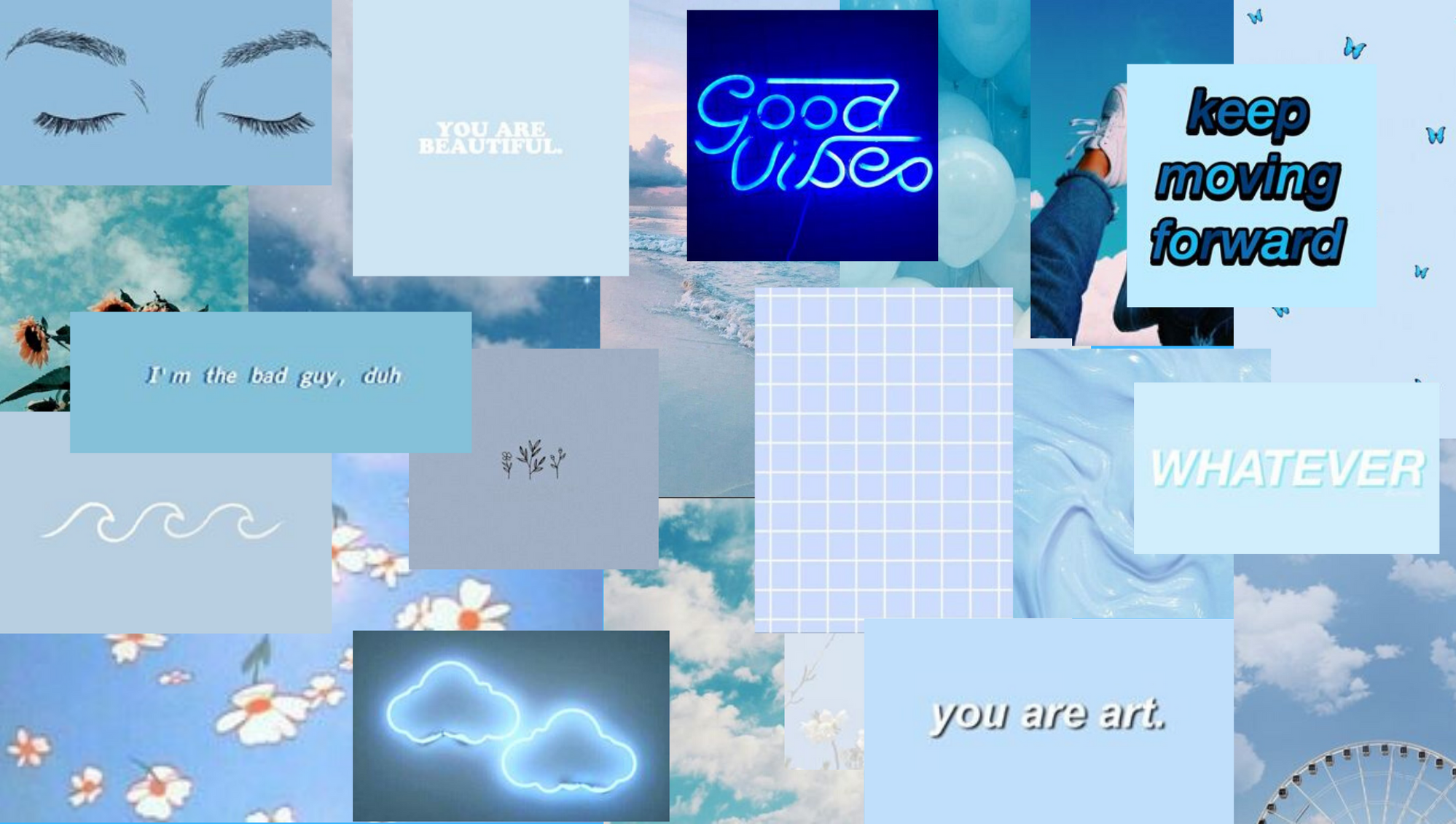 Light Blue Aesthetic Laptop Wallpapers Top Free Light Blue Aesthetic Laptop Backgrounds Wallpaperaccess