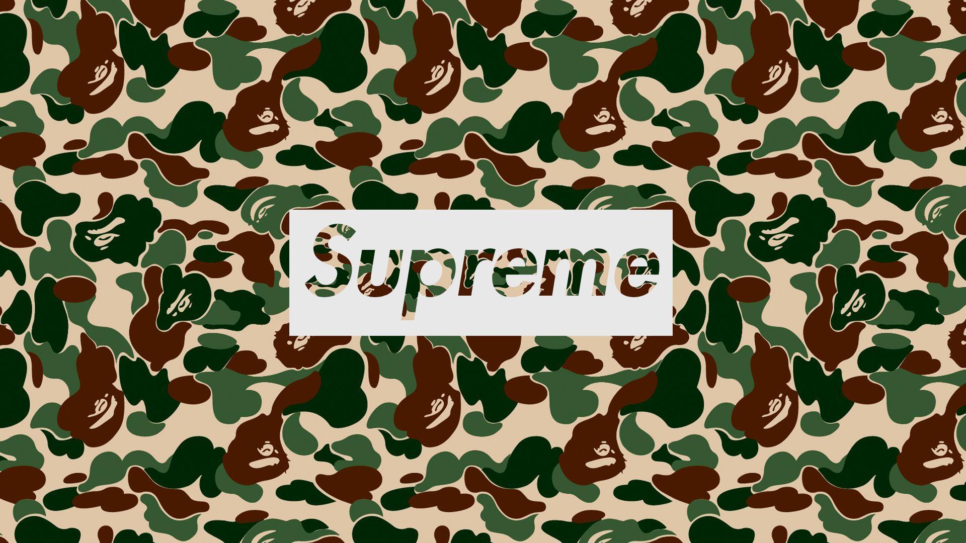 Supreme BAPE Wallpapers - Top Free Supreme BAPE ...